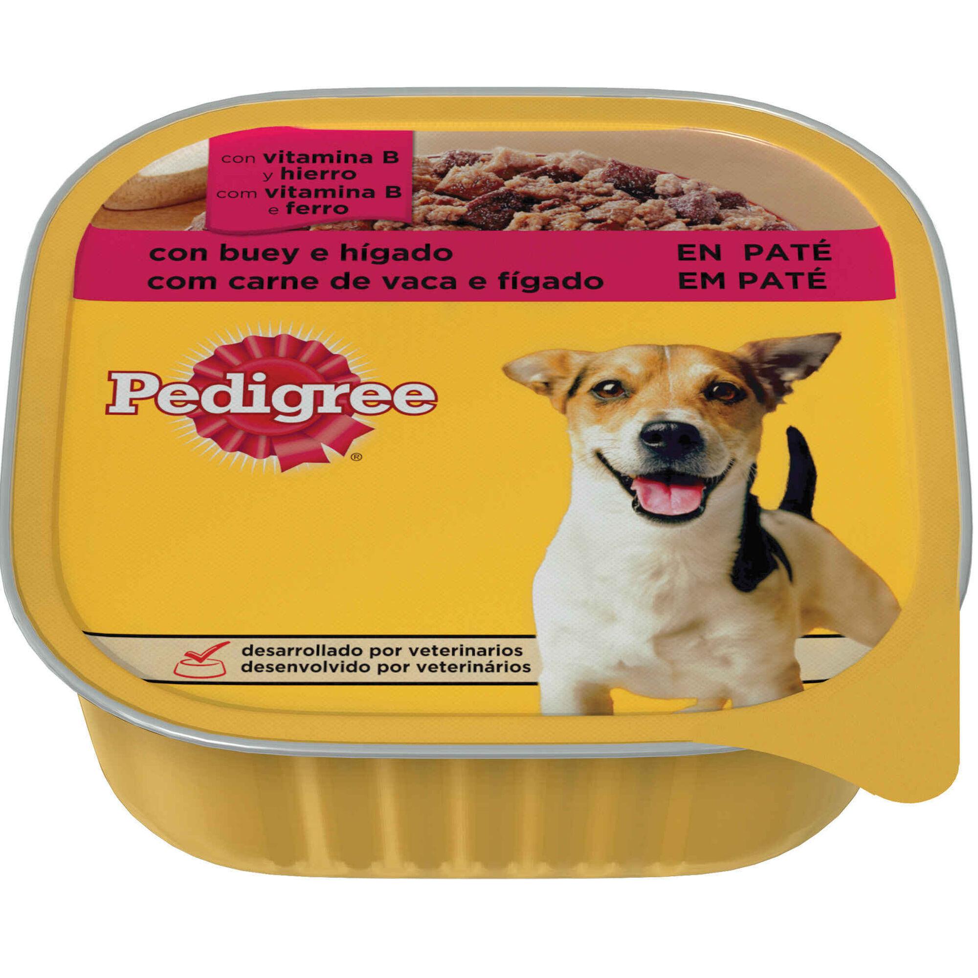 Comida Húmida para Cão Adulto Vaca e Fígado Terrina