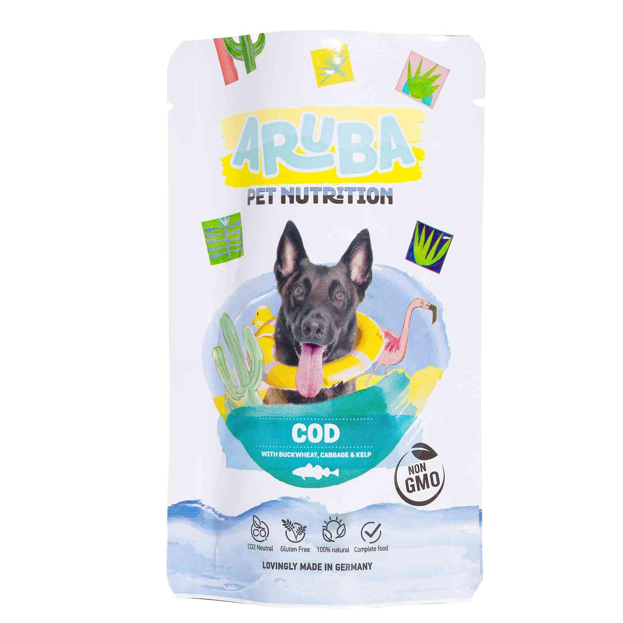 Comida húmida para Cão Bacalhau