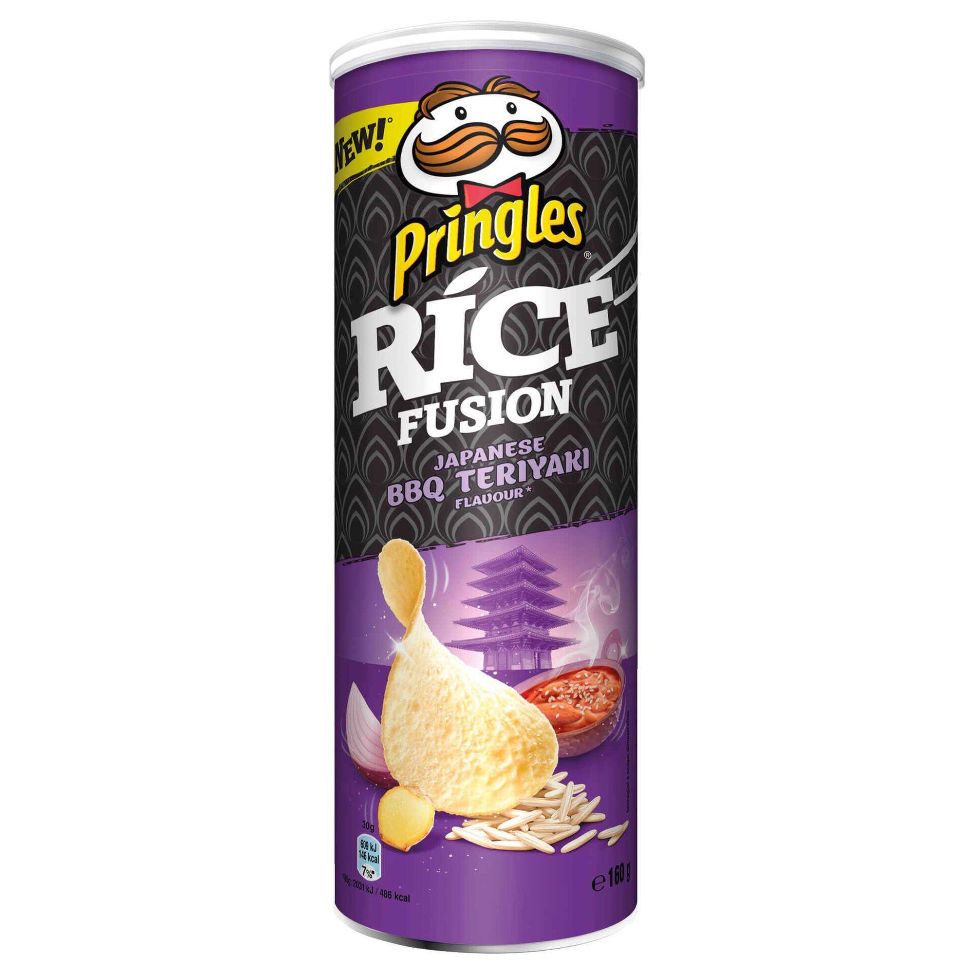 Snacks Batata Rice Fusion Japanese Barbecue Teriyaki
