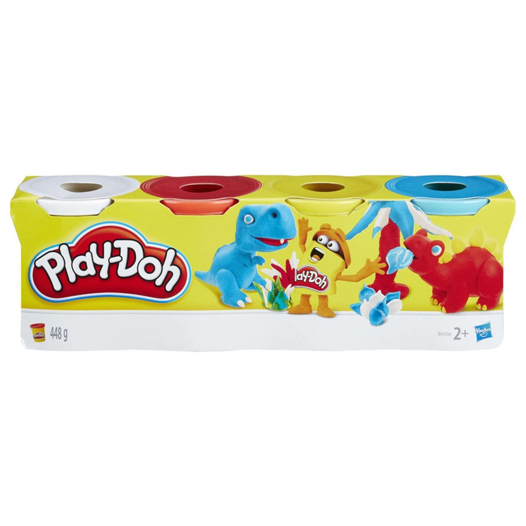 Plasticina Pack 4 Potes