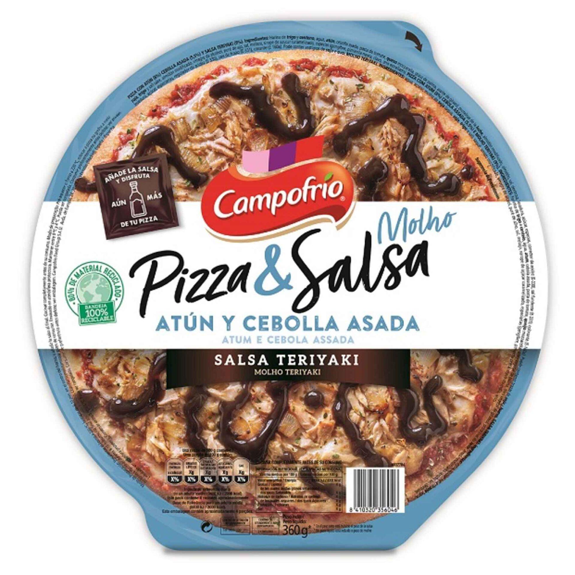 Pizza Atum e Cebola