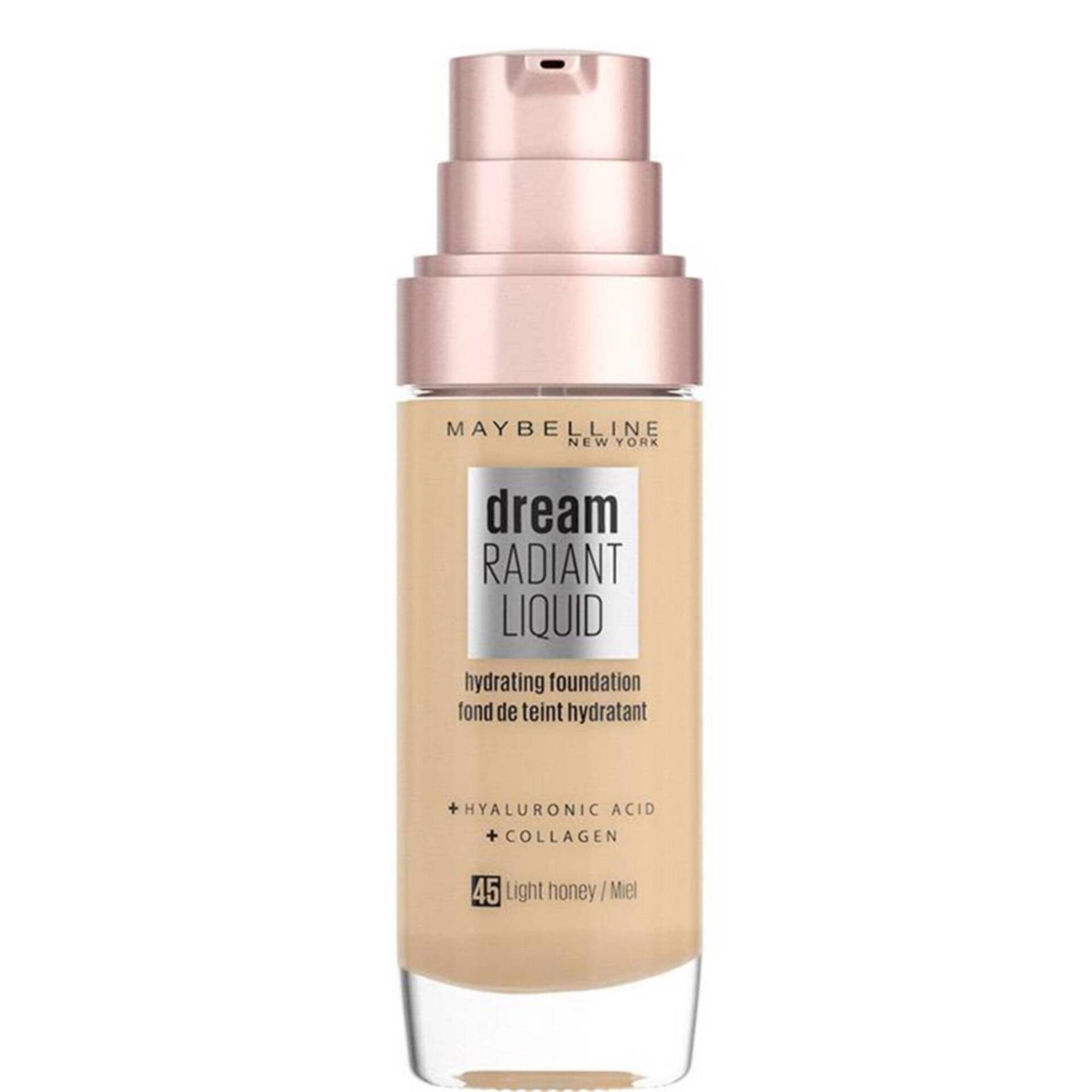 Base de Rosto Dream Radiant Liquid Light Honey 45