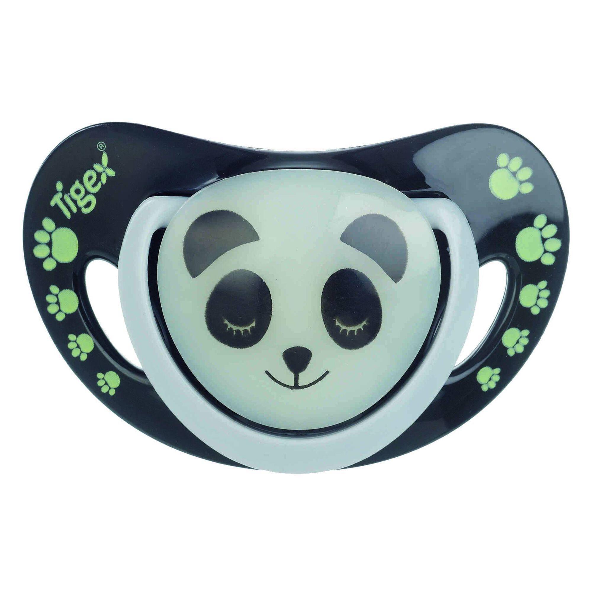 Chupetas 6-18M Silicone Smart Night Panda