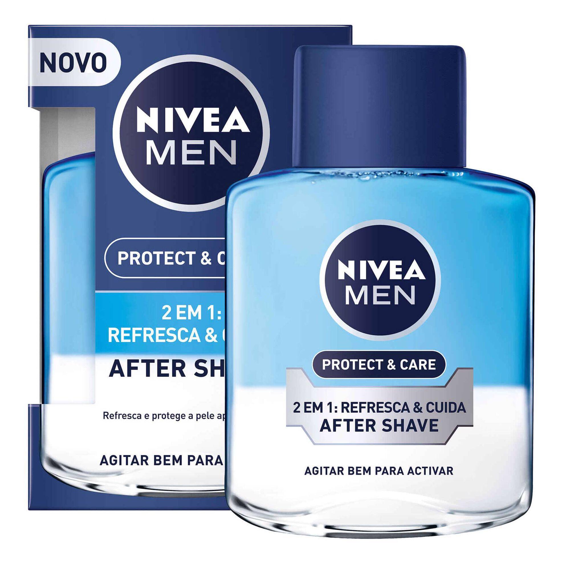 Aftershave Loção Protect&Care 2 em 1