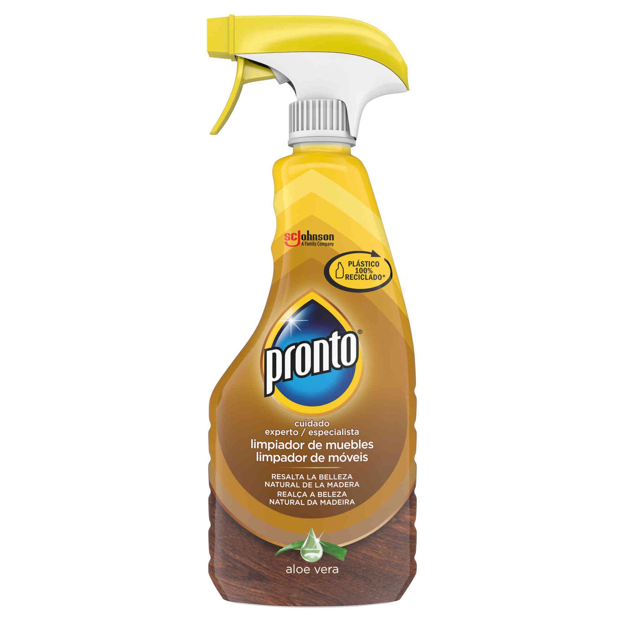 Limpa Madeiras Spray Extra Care Aloé Vera