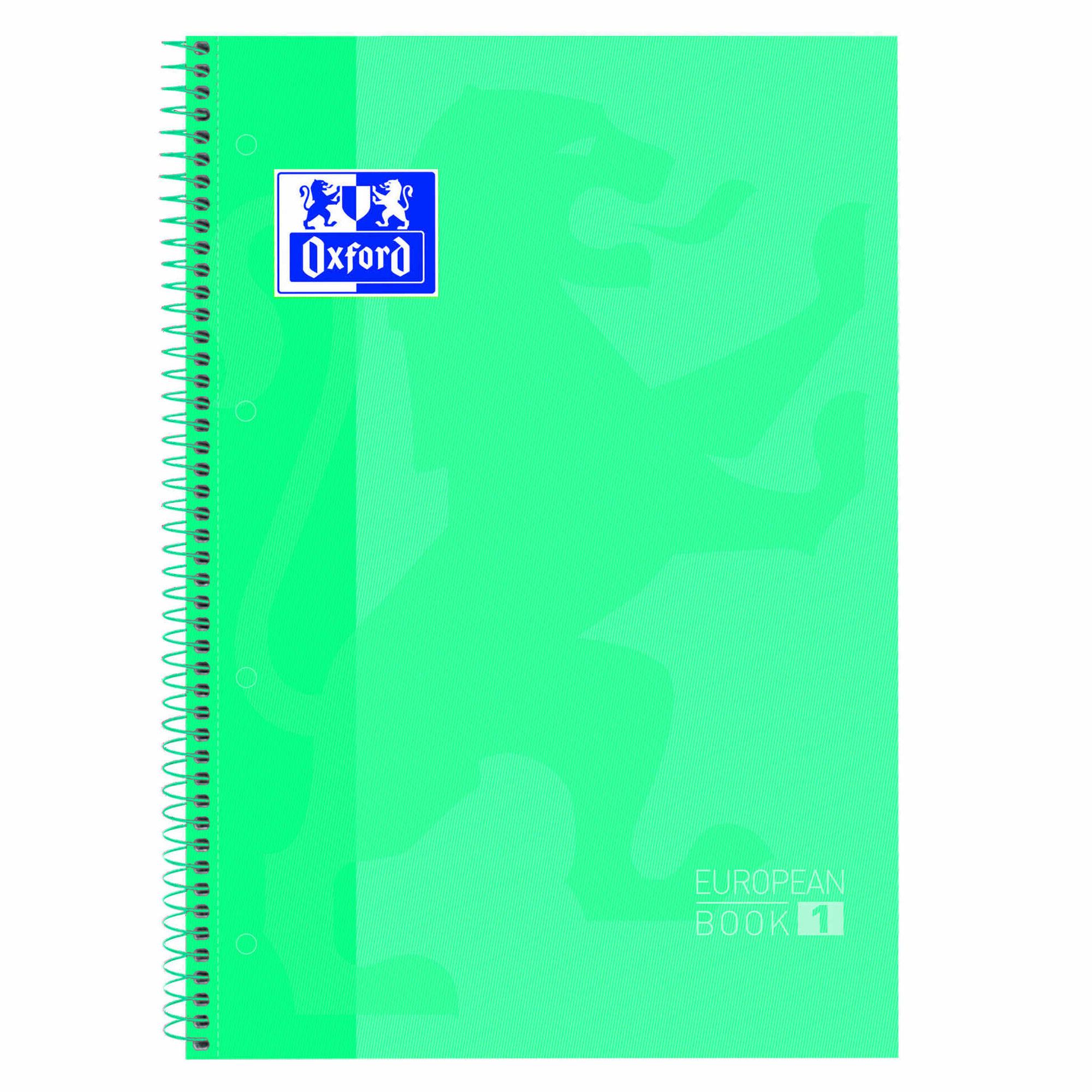 Caderno Espiral A4 Pautado Verde