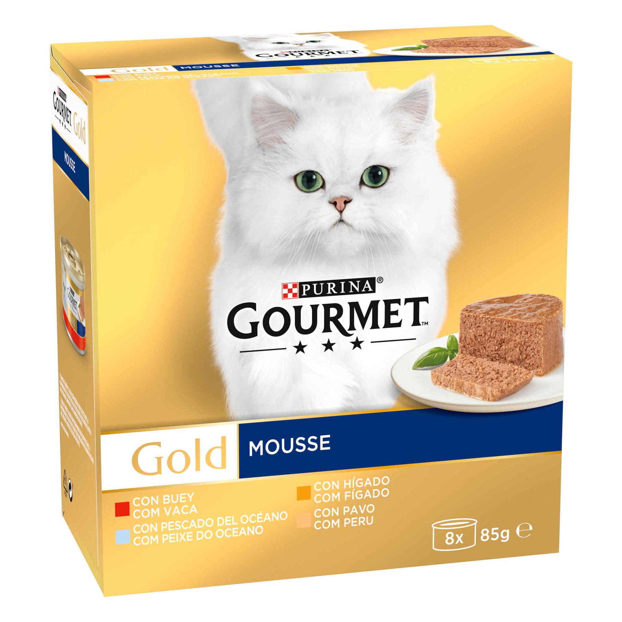 Comida Húmida para Gato Adulto Mousse Lata