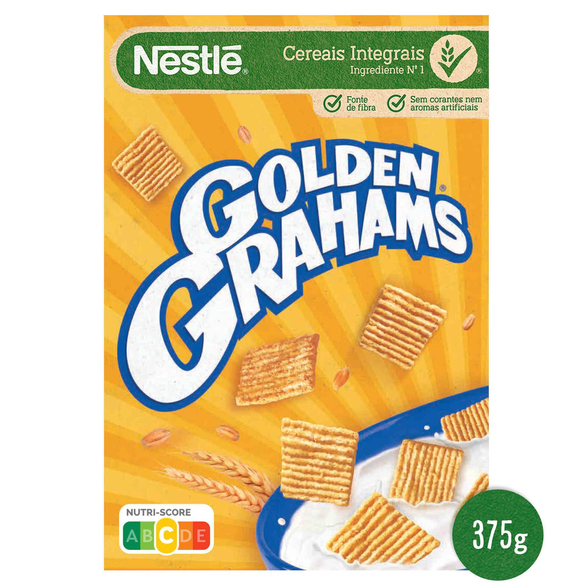 Cereais Golden Grahams