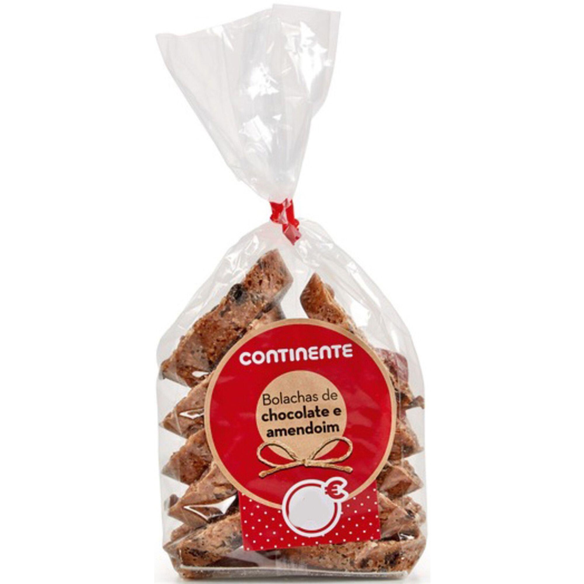 Bolachas Chocolate e Amendoim