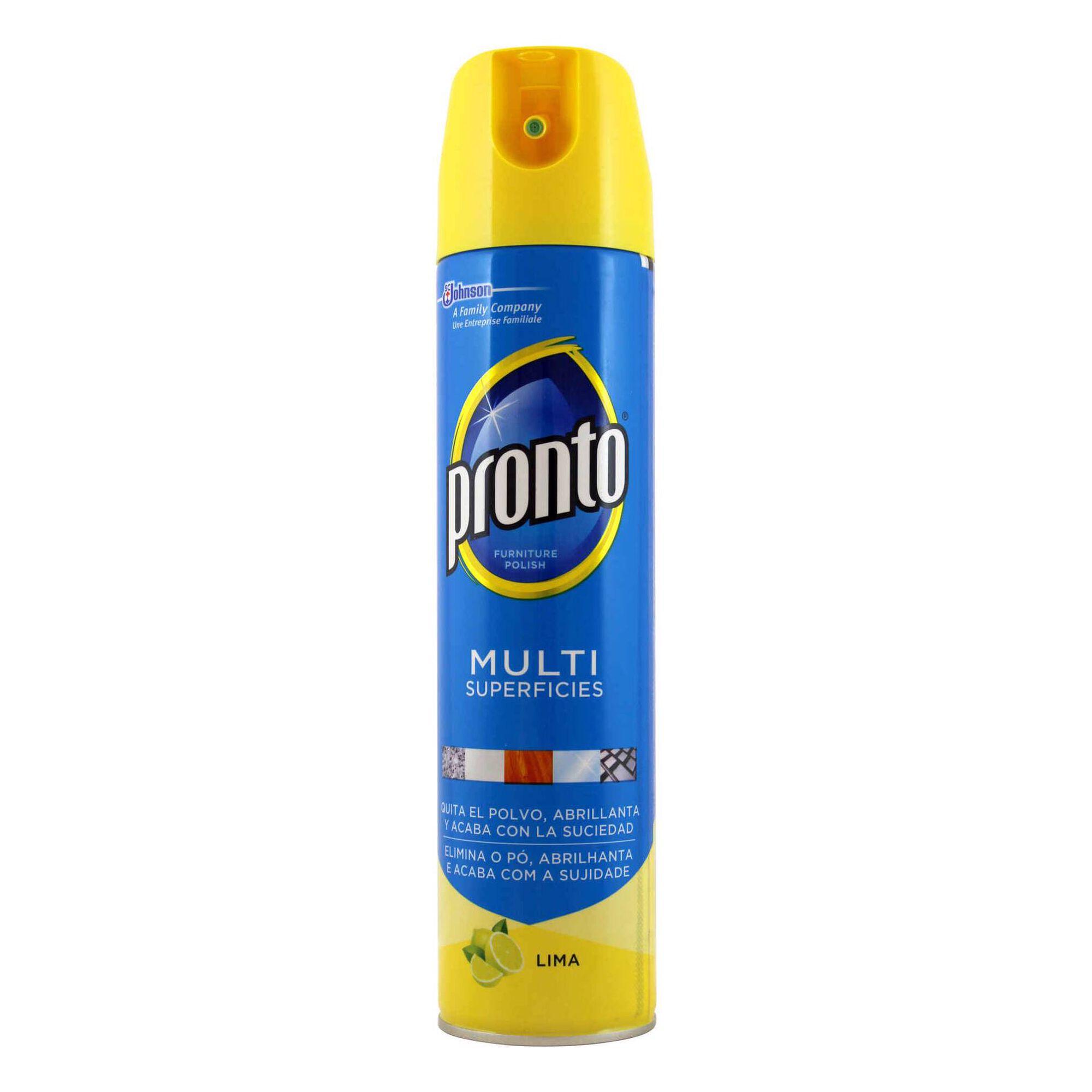 Limpa Móveis Spray Multisuperfícies Lima