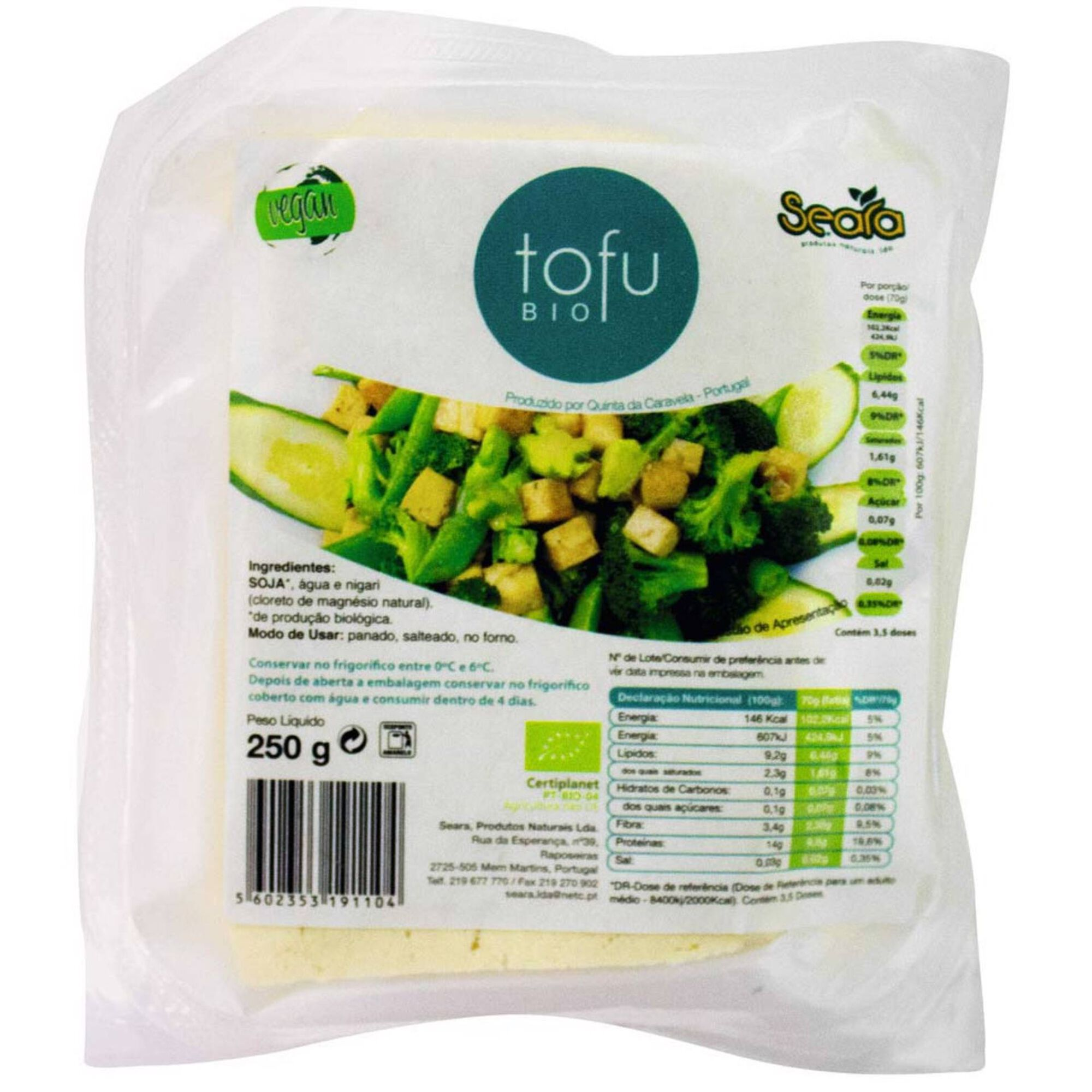 Tofu Refrigerado Biológico