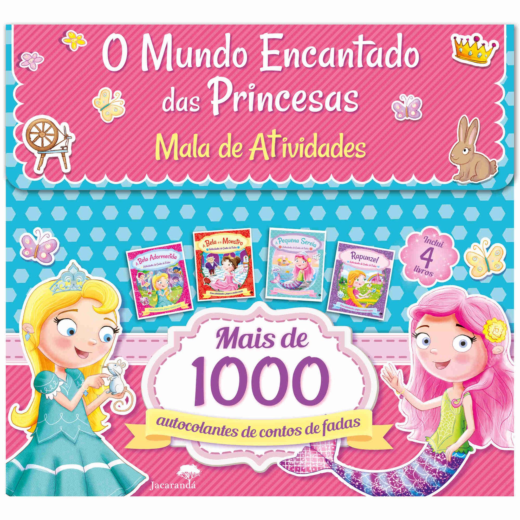 O Mundo Encantado das Princesas - Mala de Atividades