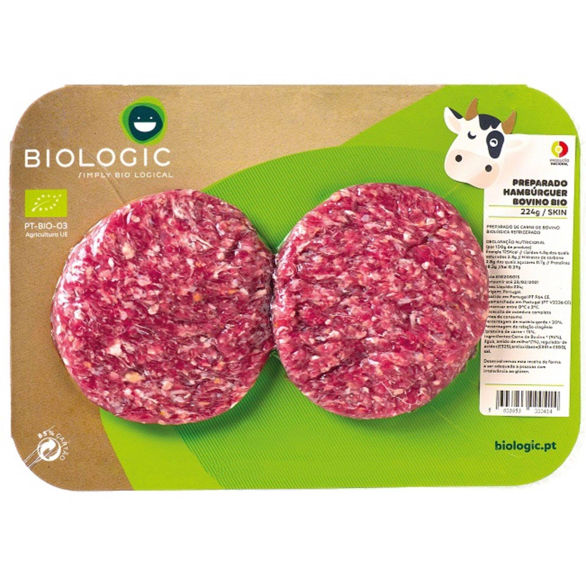 Hambúrguer Bovino Biológico