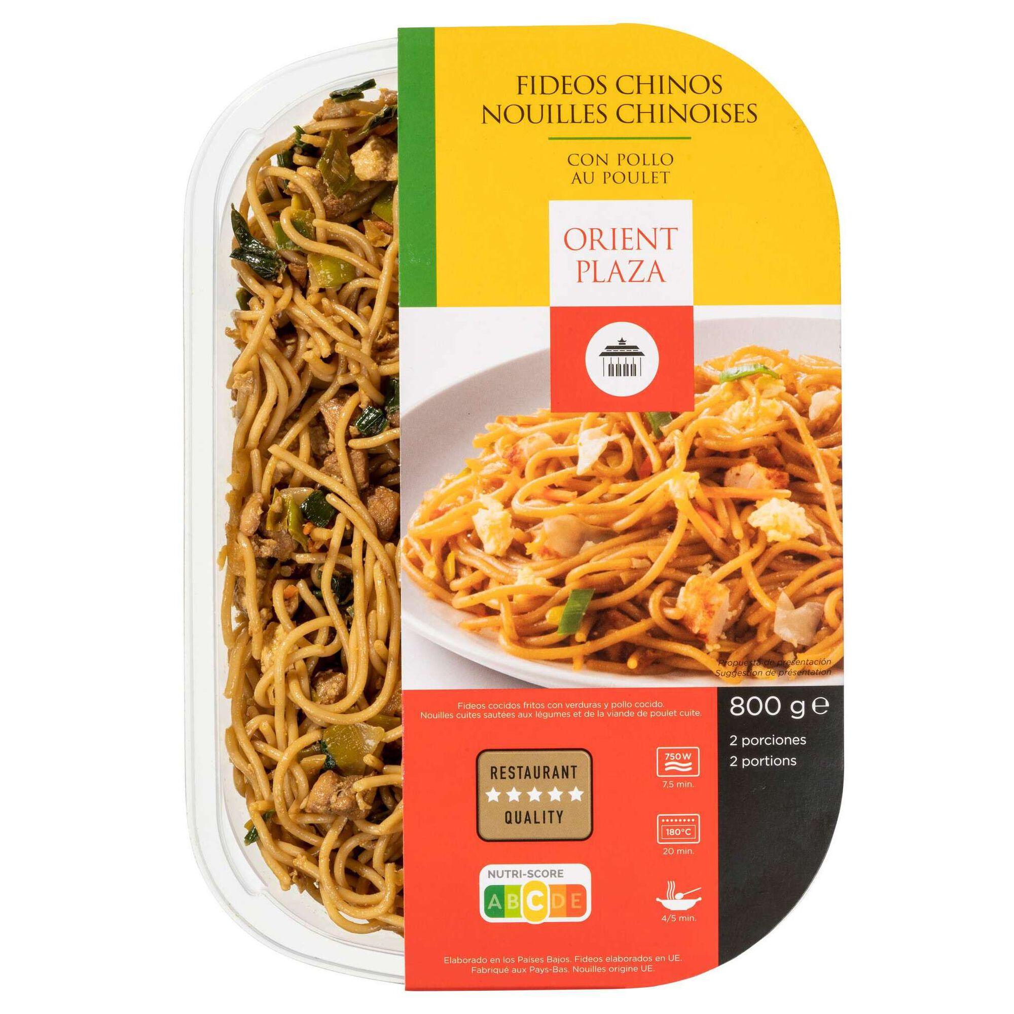 Noodles Chineses com Frango