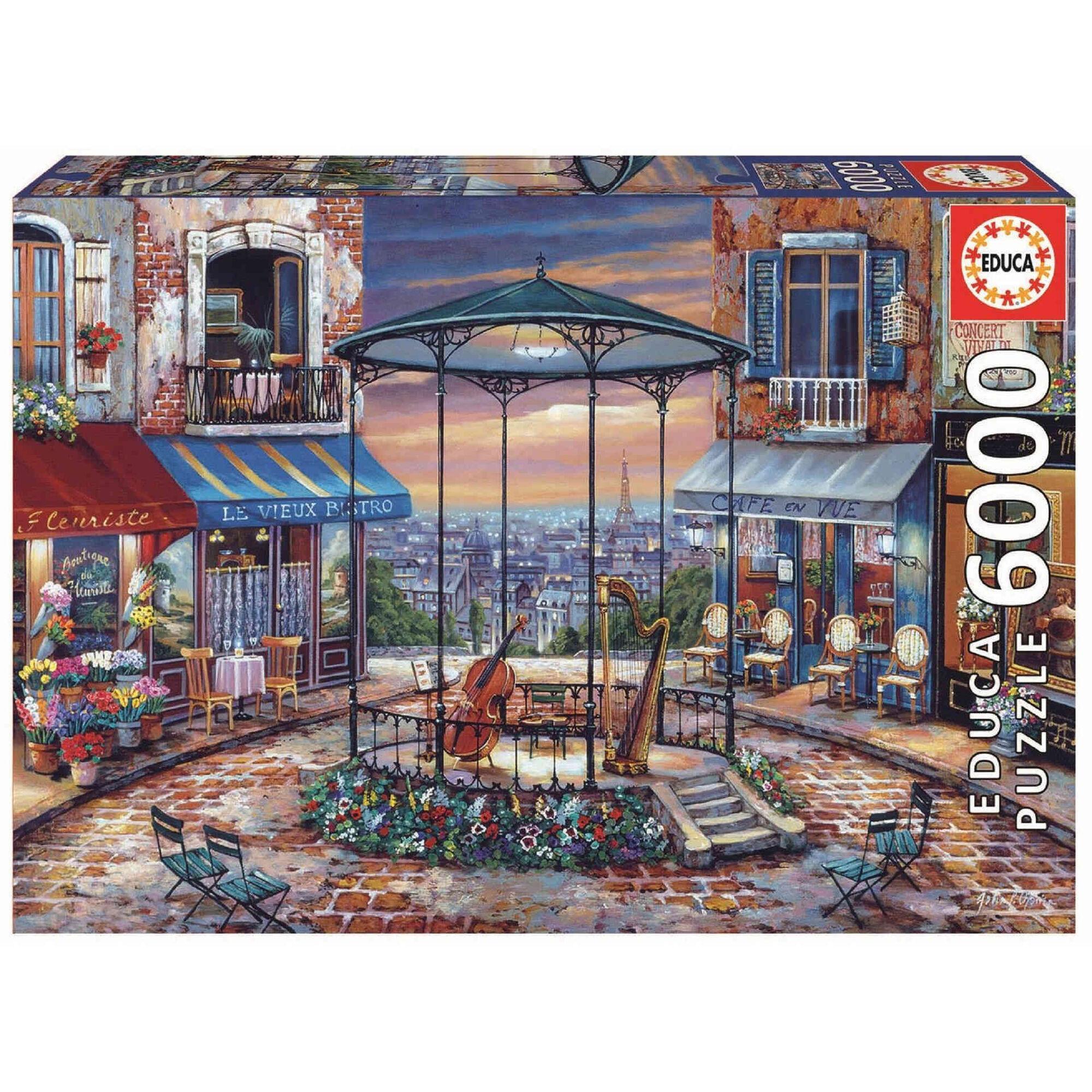 Puzzle Prelúdio Noturno 6000 Peças