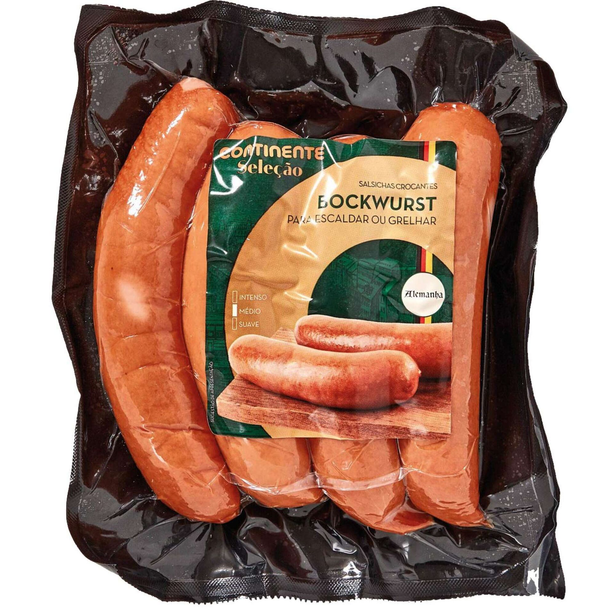 Salsichas Bockwurst