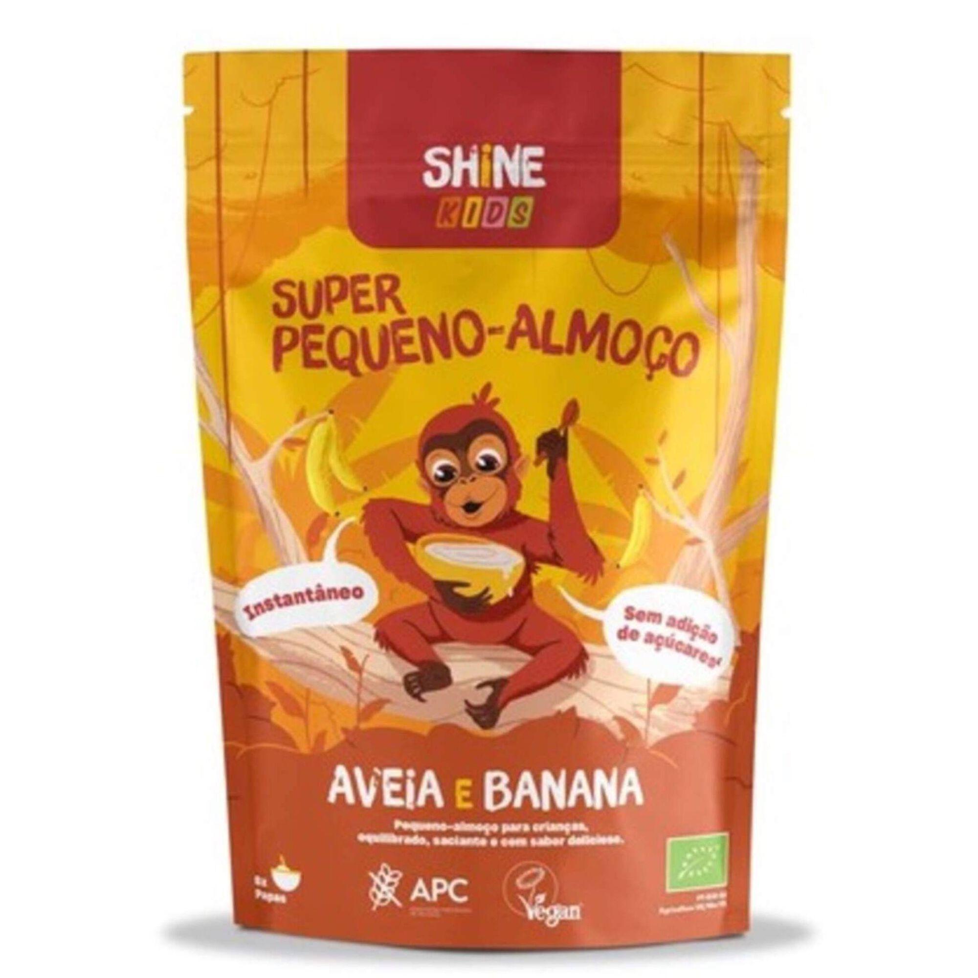 Super Pequeno Almoço Aveia e Banana Kids sem Glúten Biológico