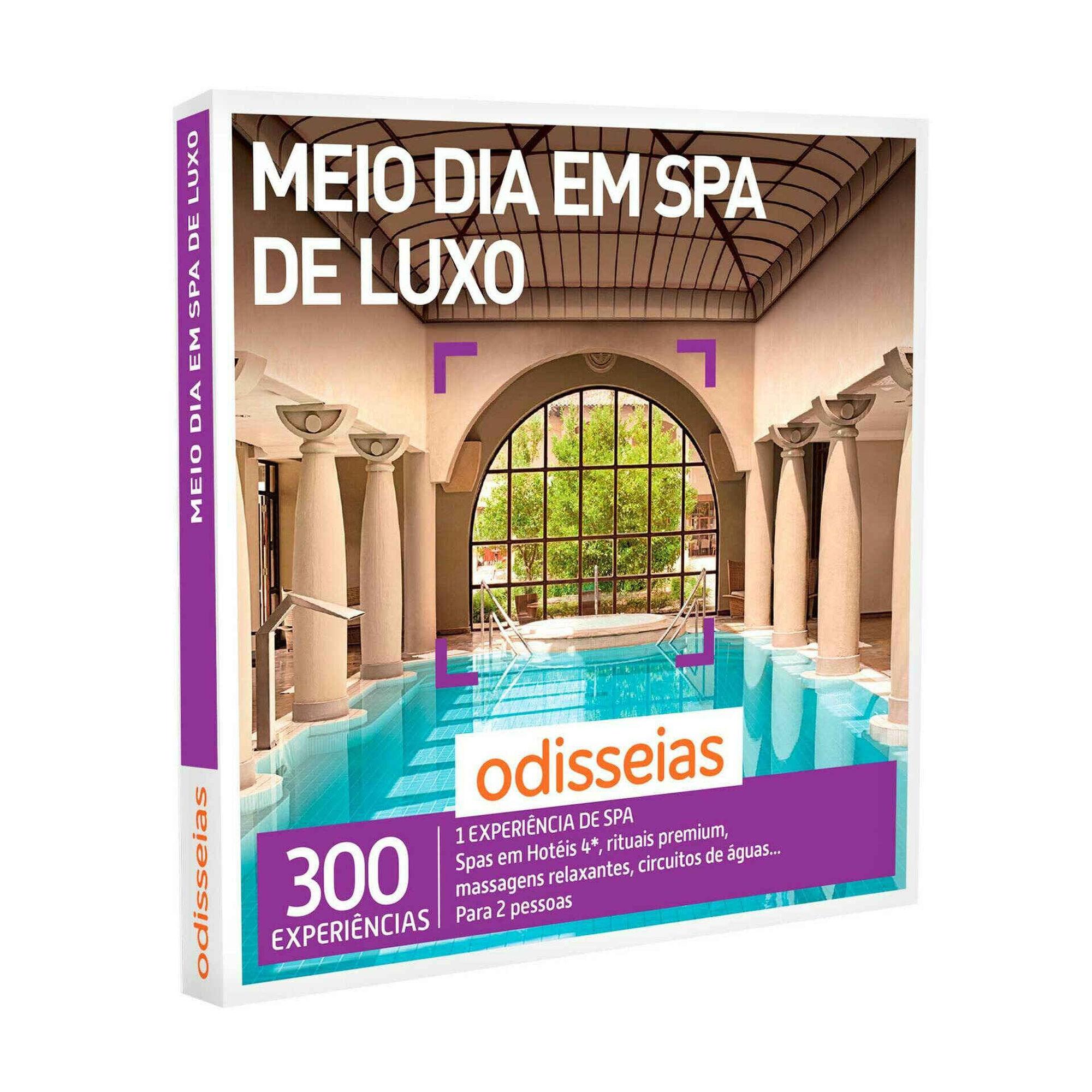 Meio dia em Spa de Luxo