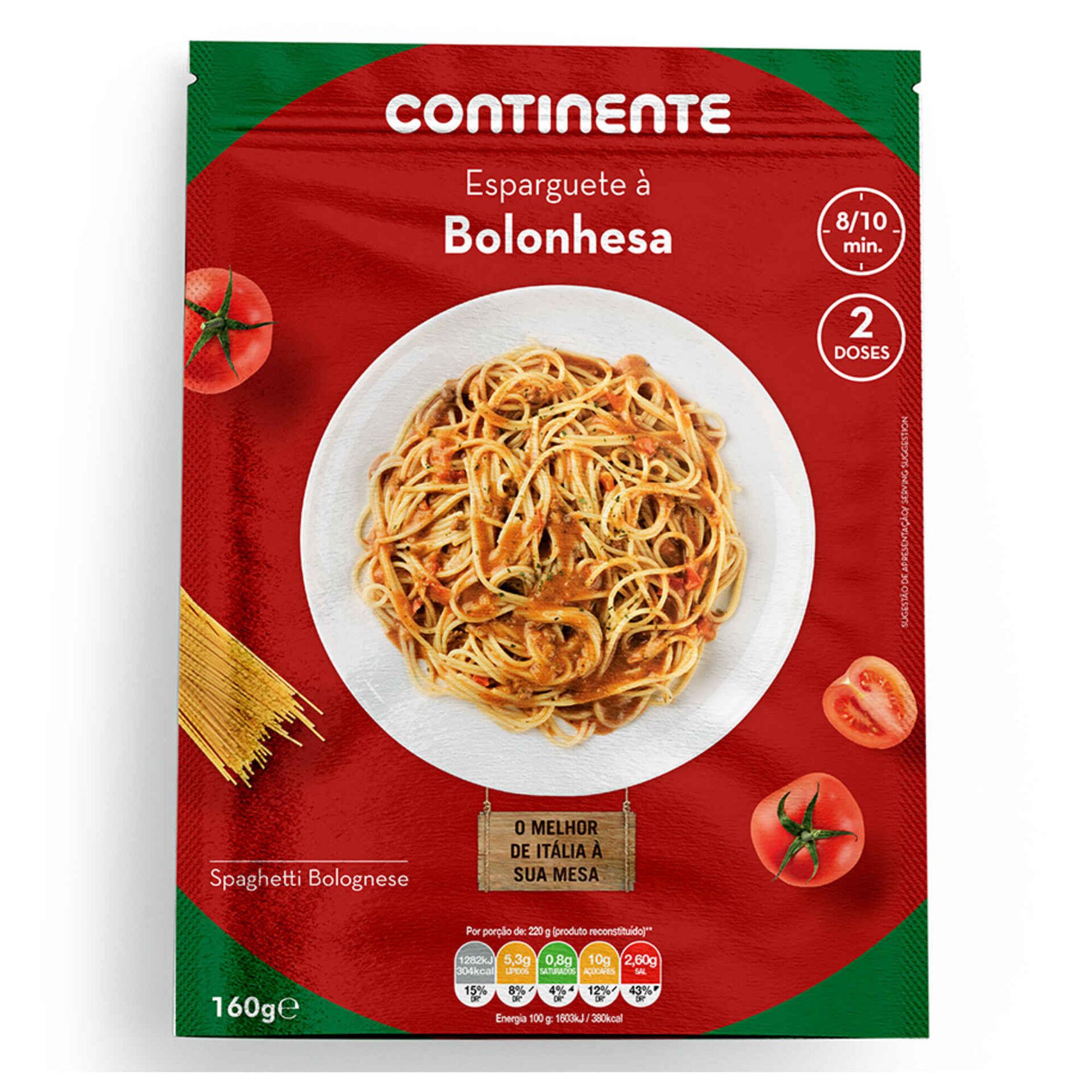 Massa Esparguete à Bolonhesa