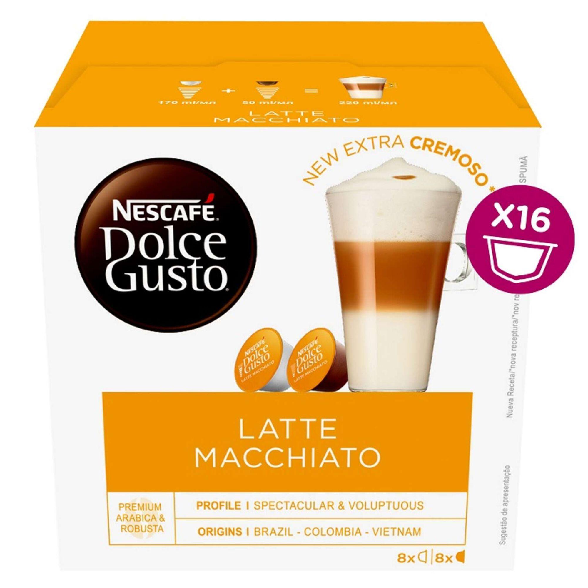 Cápsulas de Café Latte Macchiato