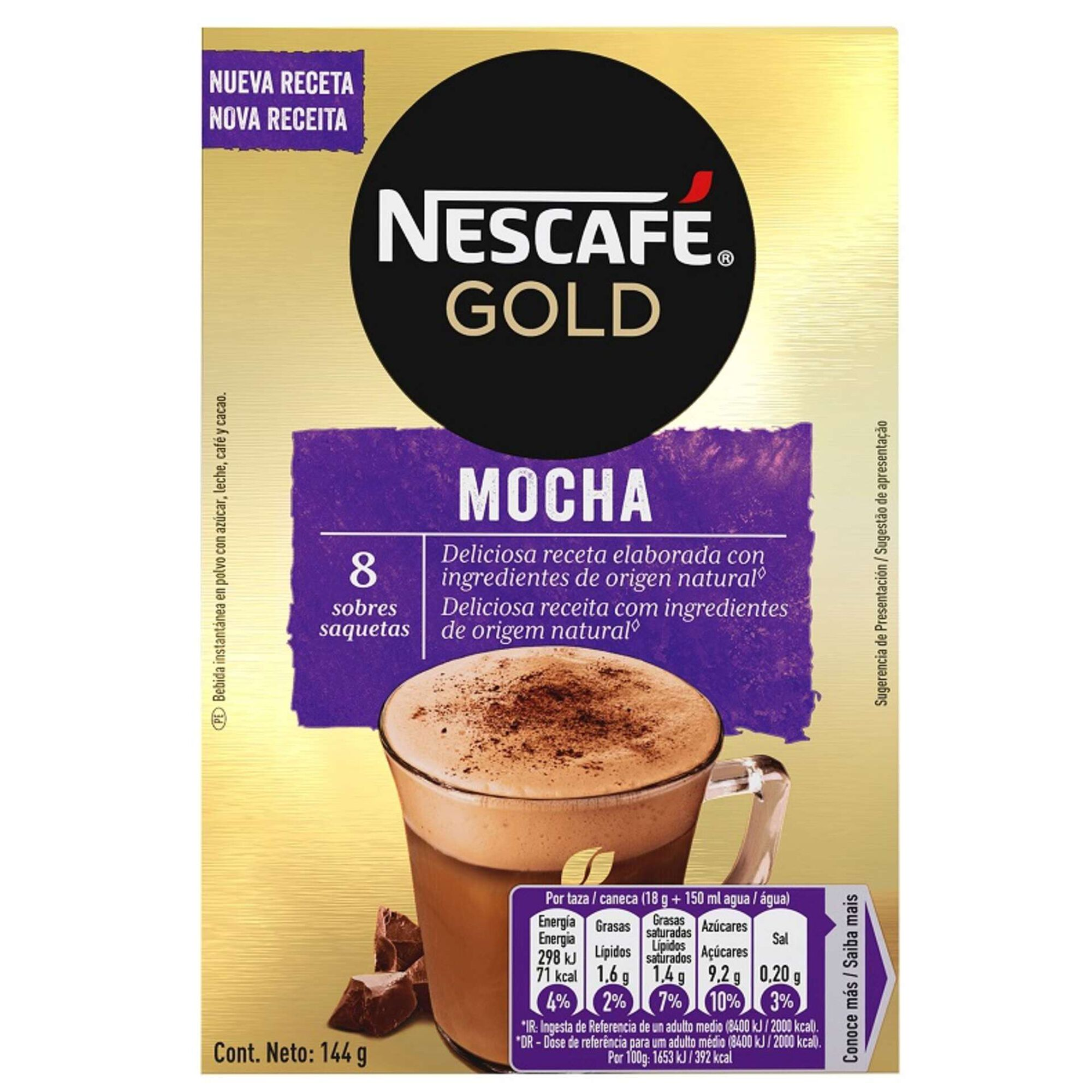Café Solúvel Gold Mocha
