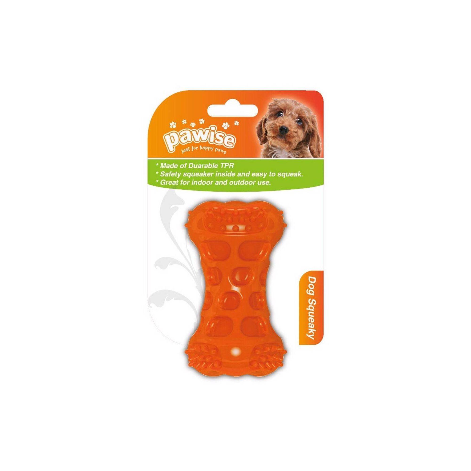 Brinquedo para Cão Osso com Squeaker 9,5 cm