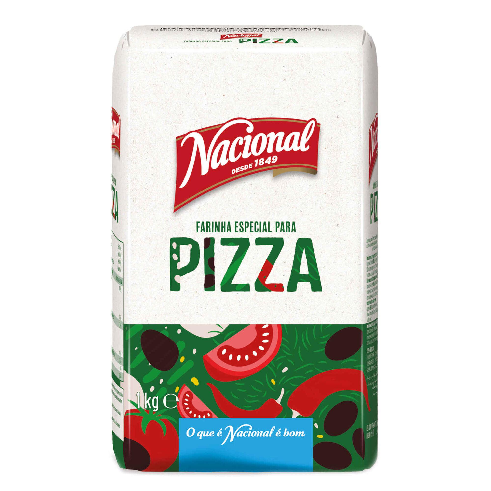 Farinha para Pizza com Levedura