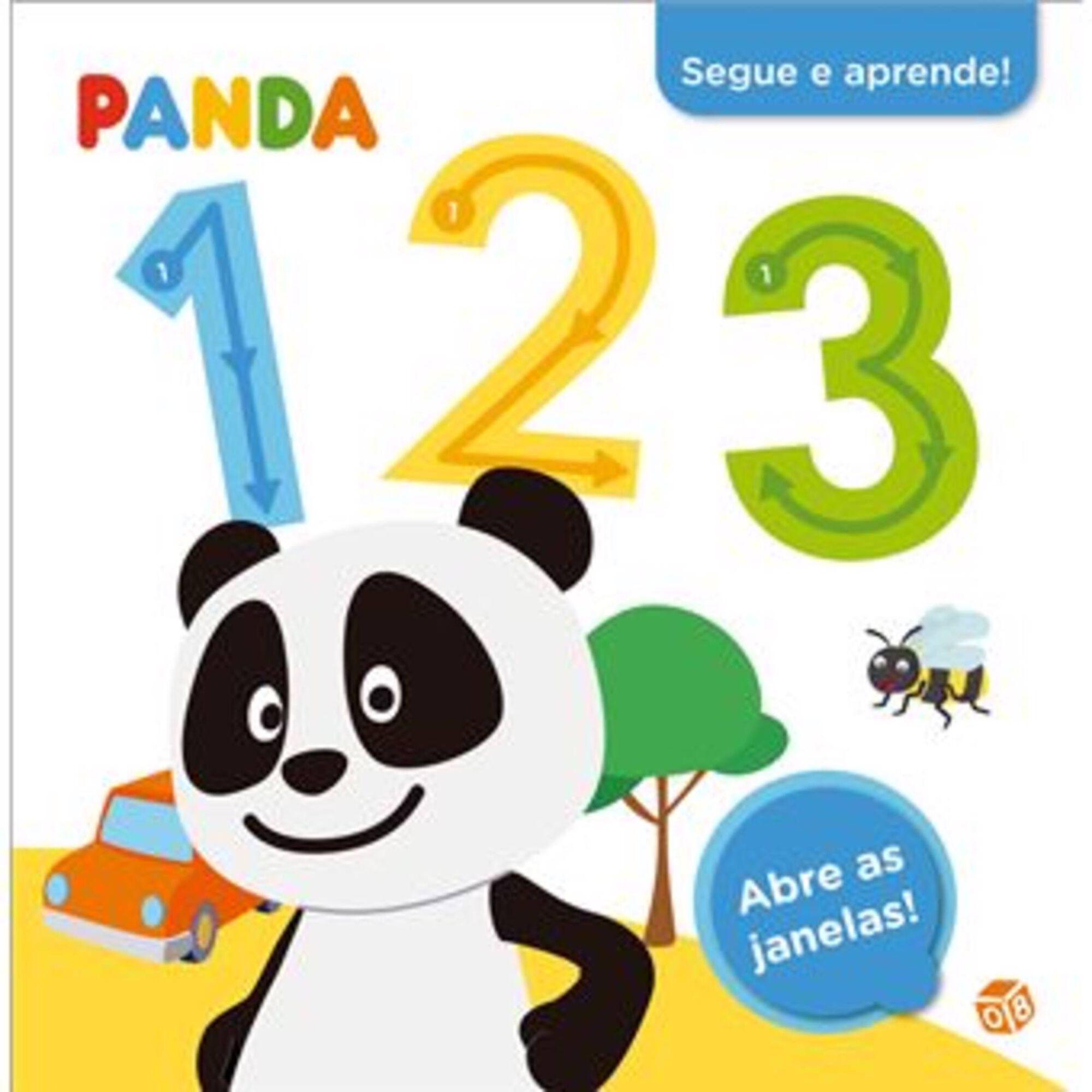 Panda - Segue e Aprende! 123