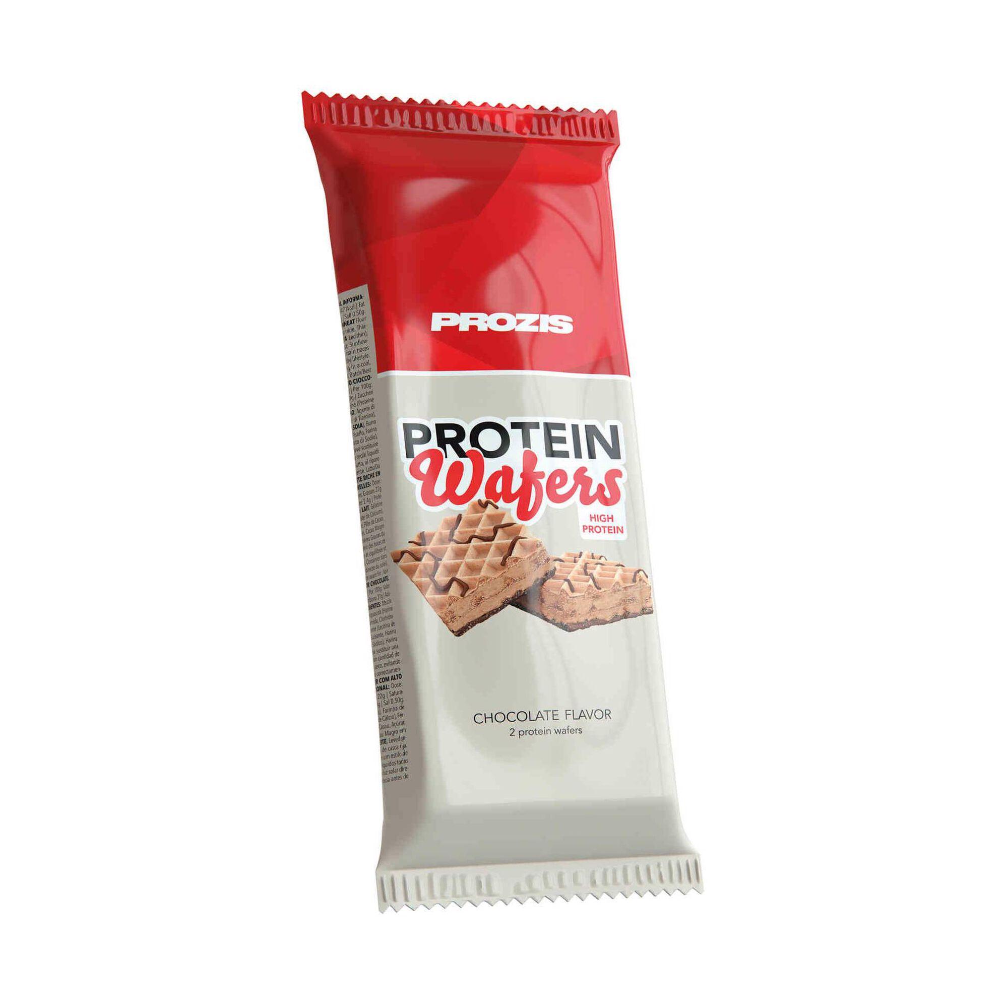 Barra Proteína Wafer Chocolate