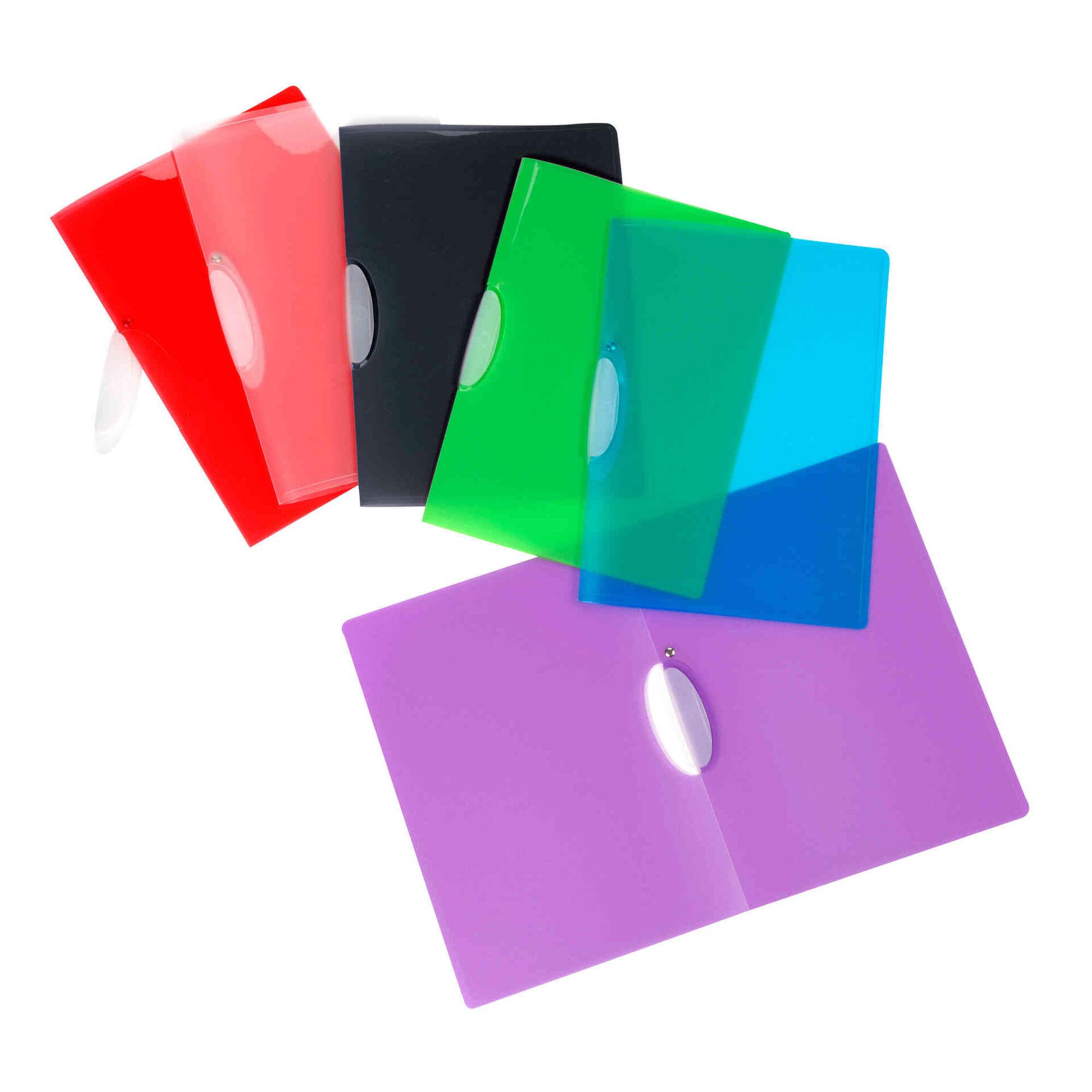 Classificador com Clip A4 (várias cores)