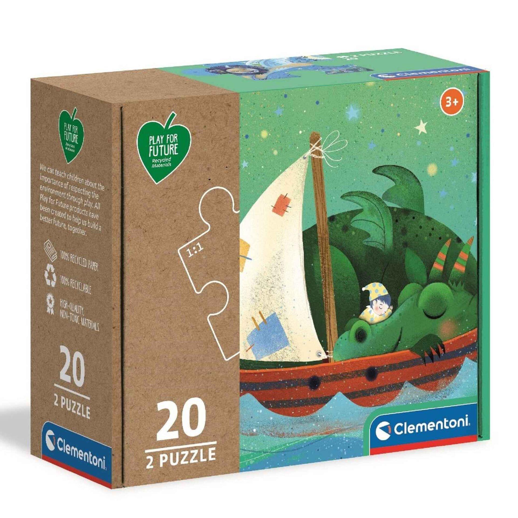 Puzzle 2x2 Peças (vários modelos)