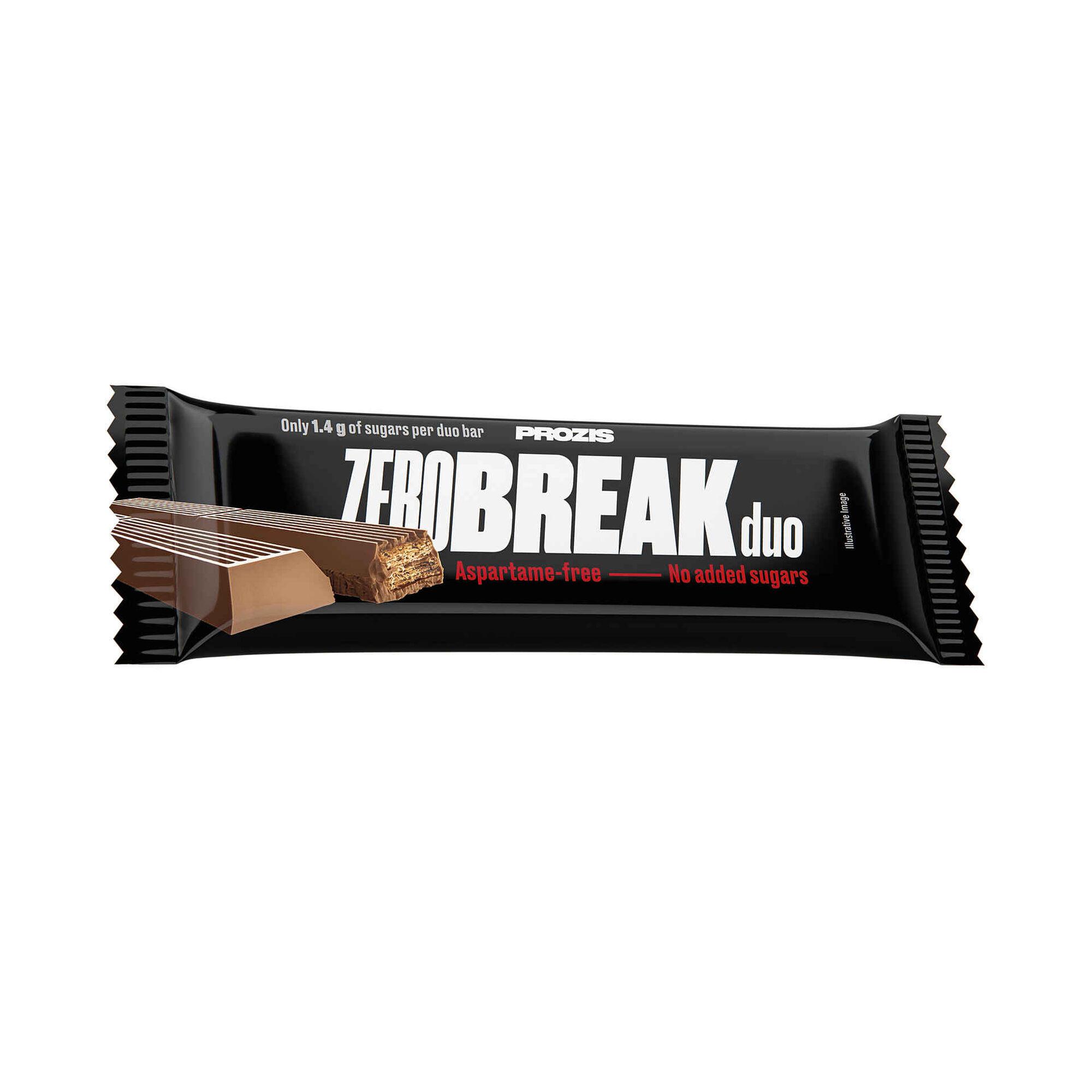 Barra Zero Break Duo Chocolate