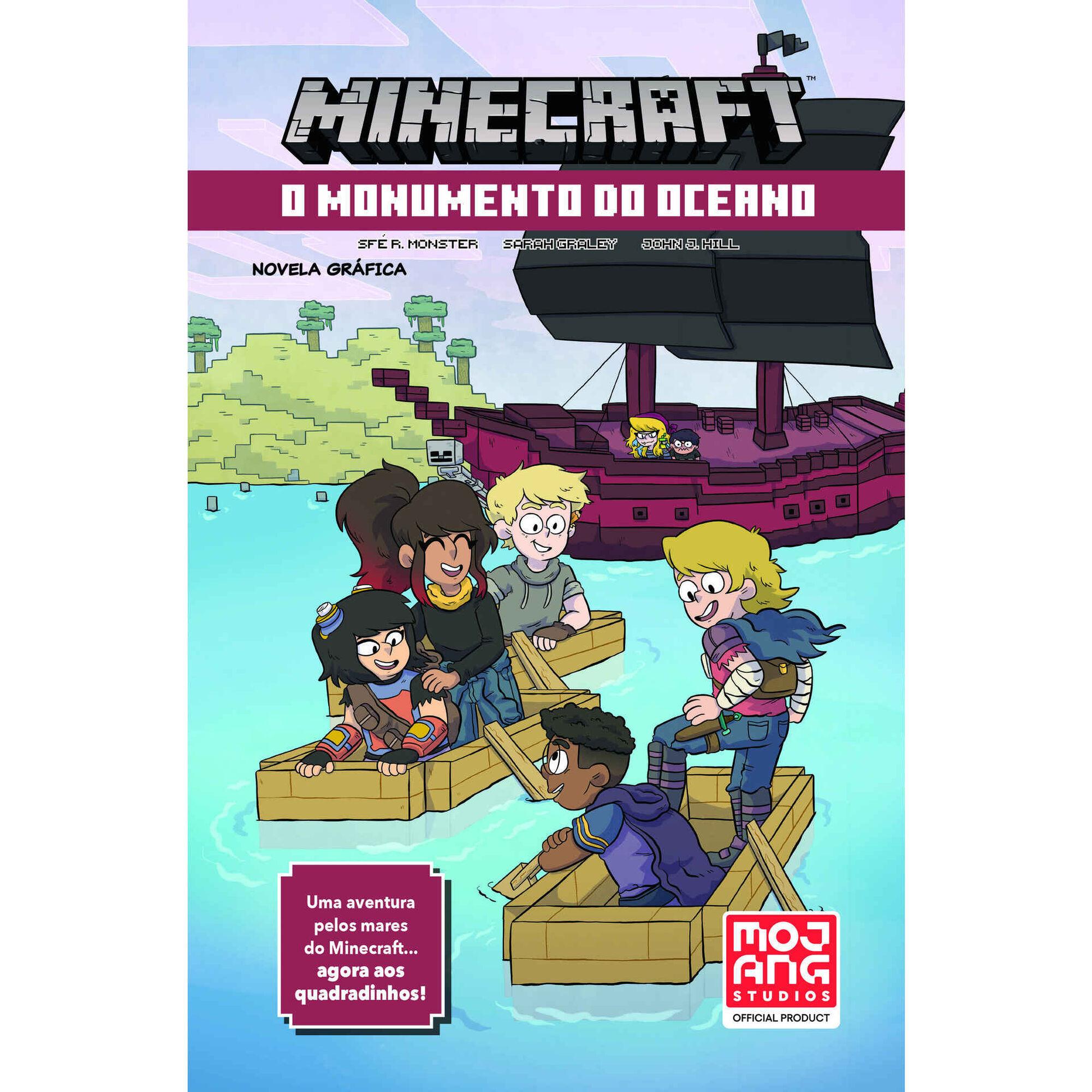 Minecraft - O Monumento do Oceano