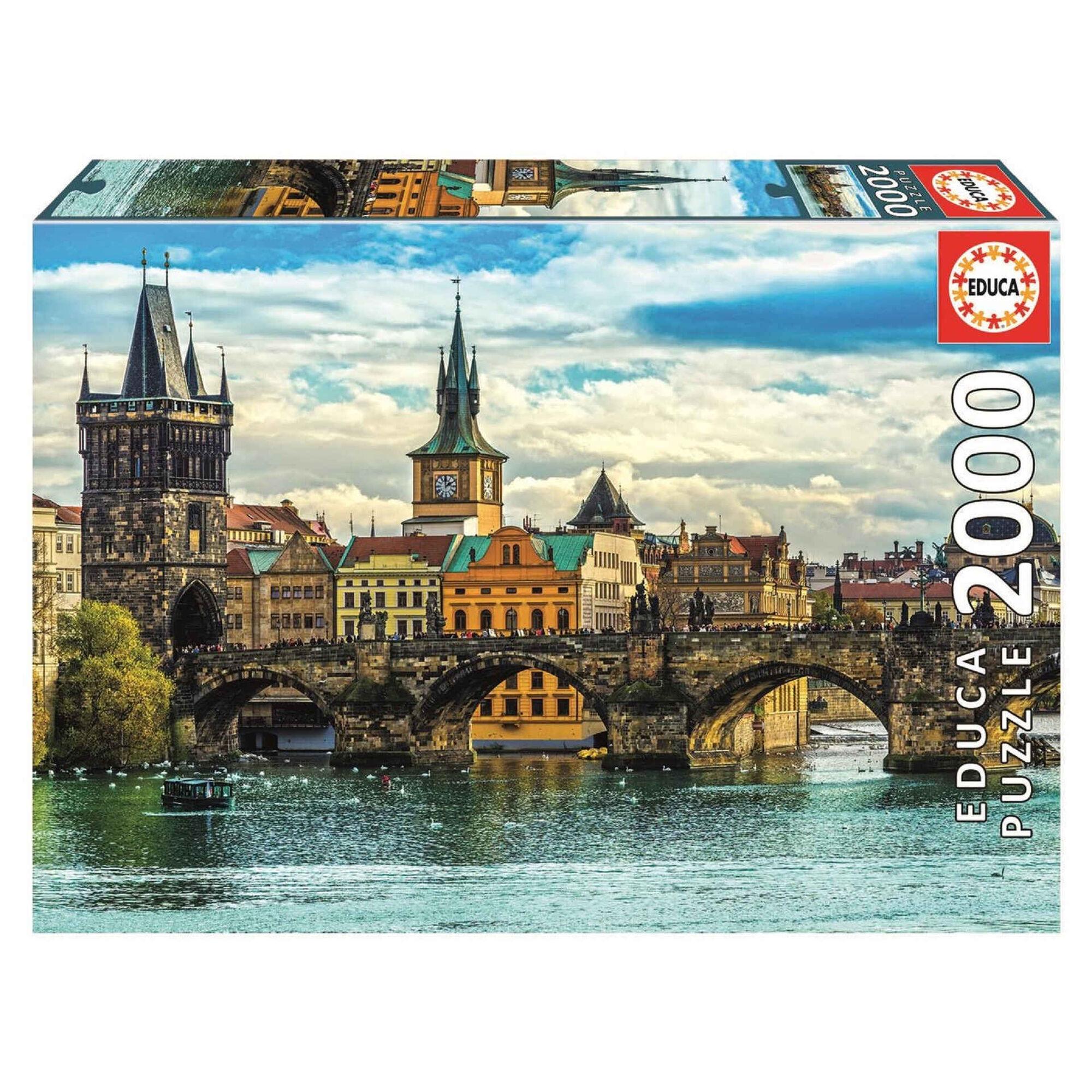 Puzzle Vistas de Praga 2000 Peças