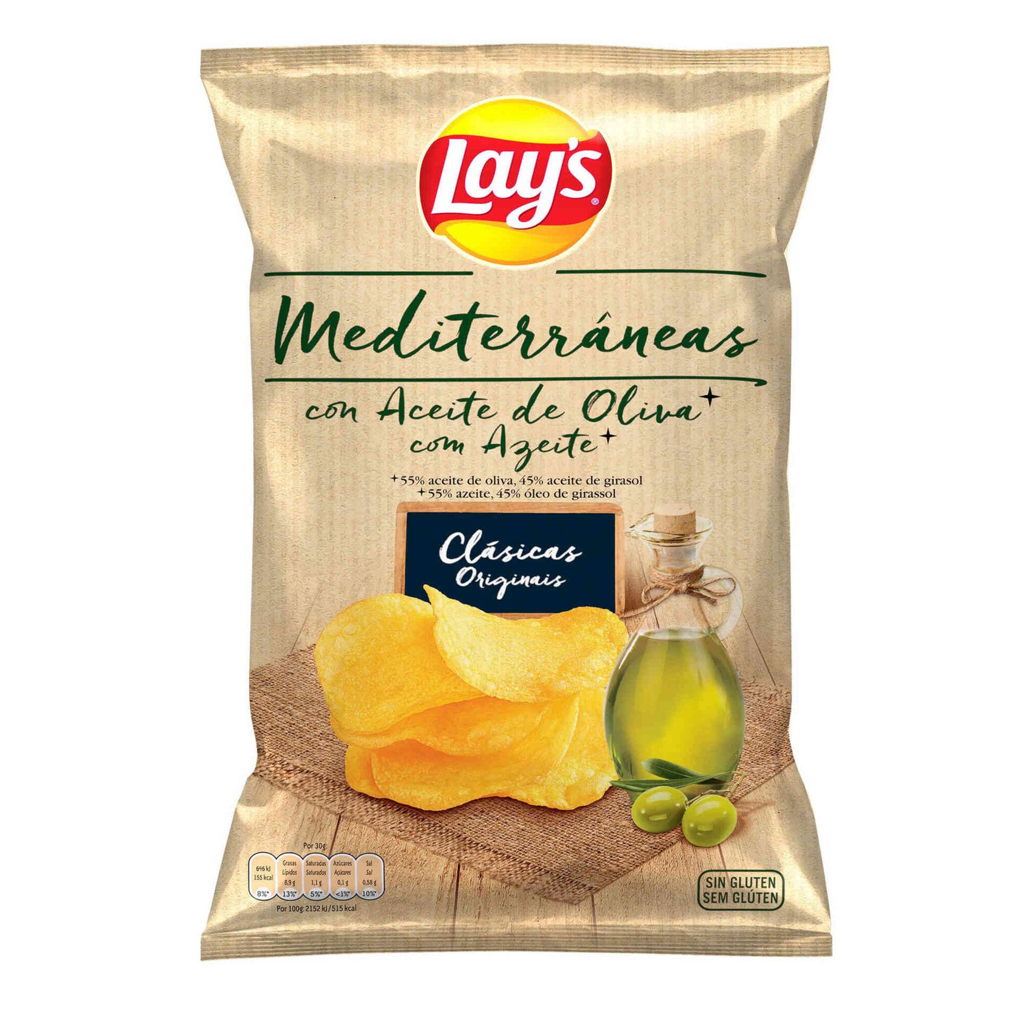 Batata Frita Lisa Sabor Mediterrâneas