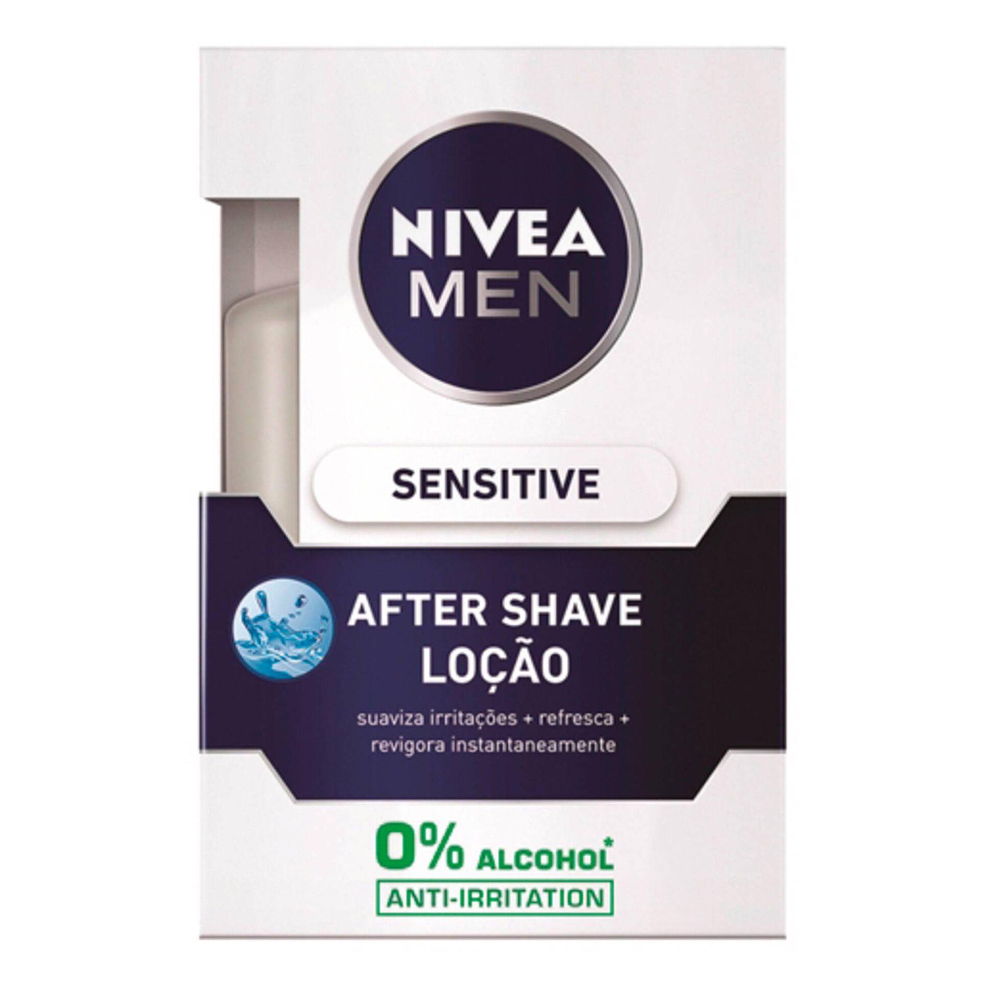 Aftershave Loção Sensitive, , hi-res