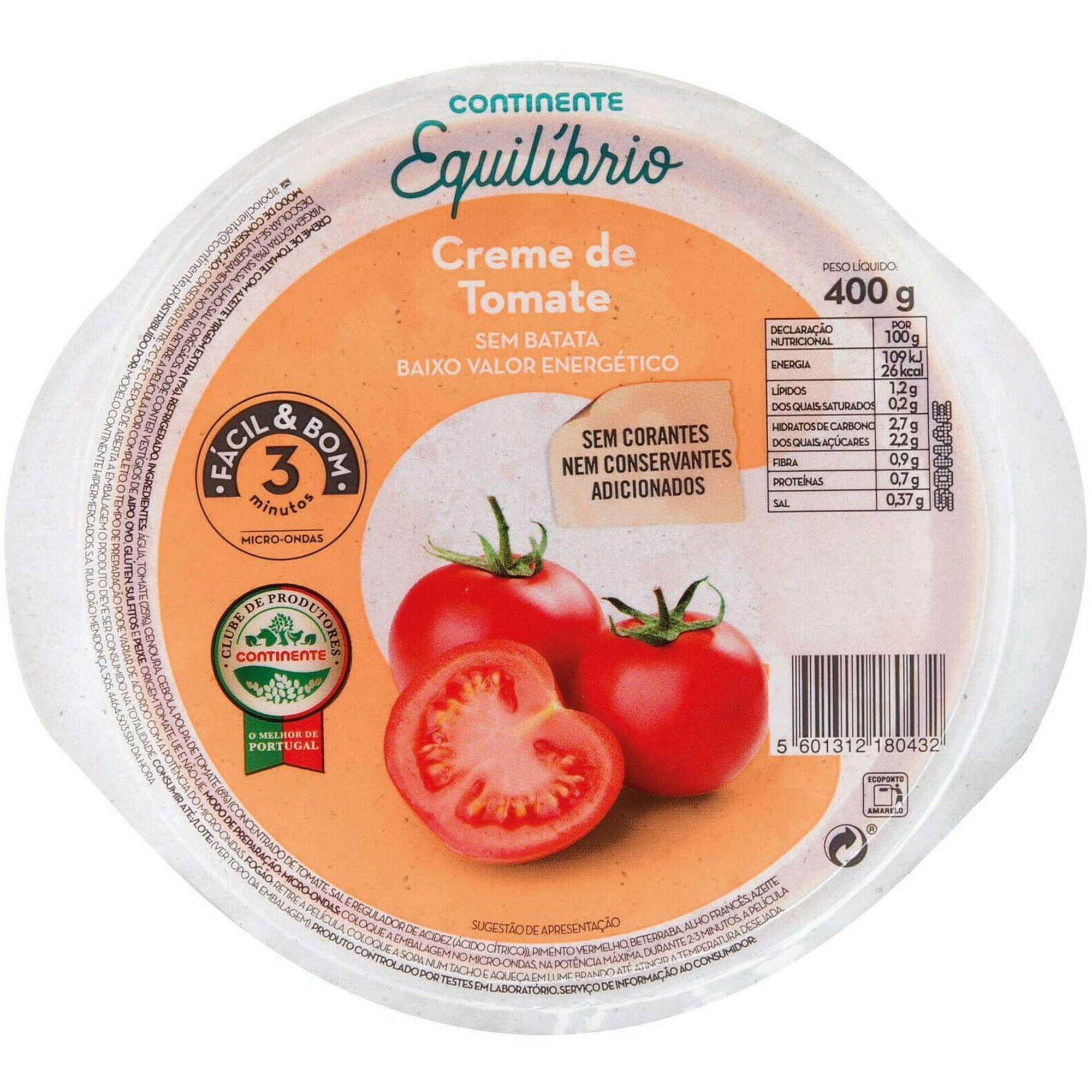Sopa de Tomate Fácil e Bom