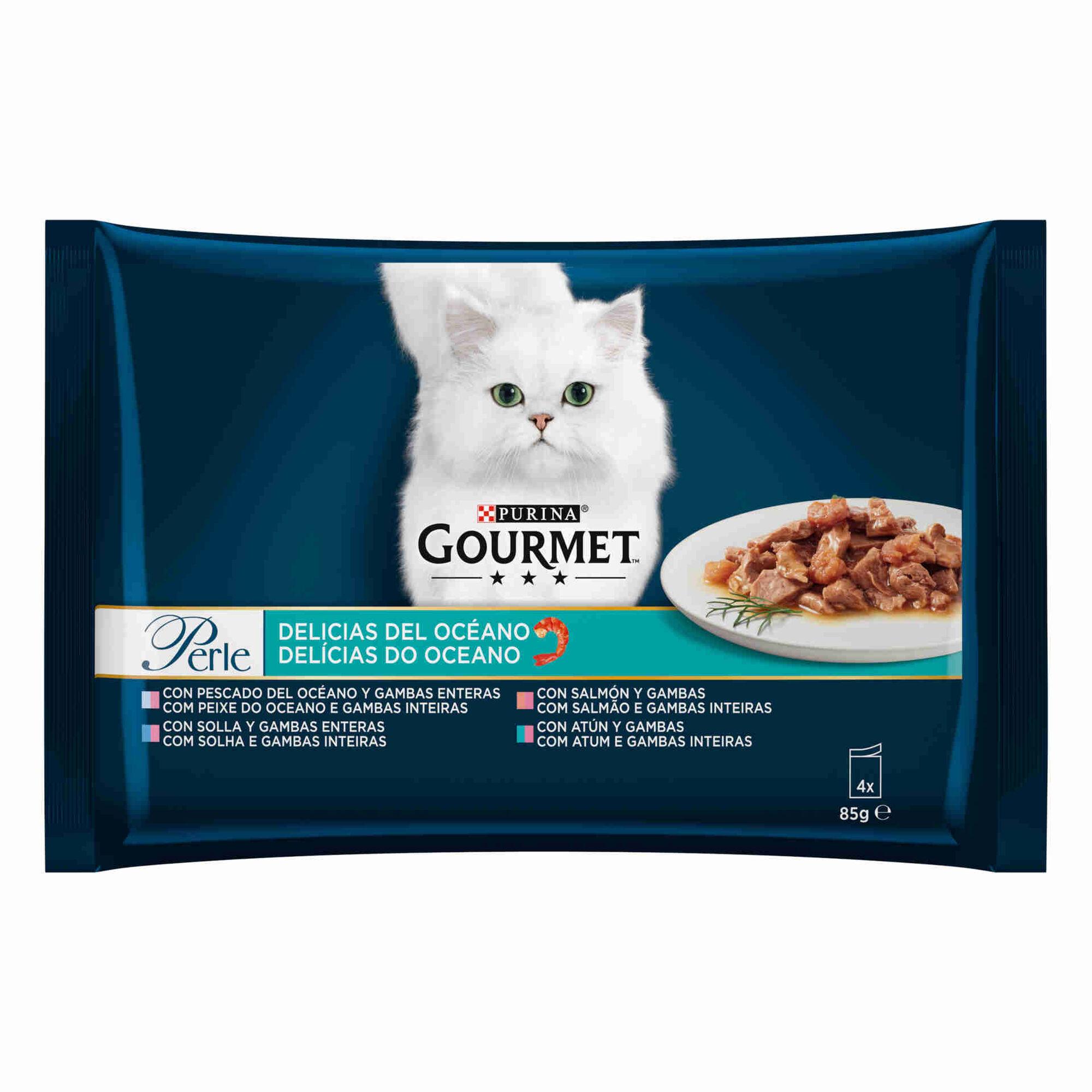 Comida Húmida para Gato Adulto Delícias do Oceano Saquetas