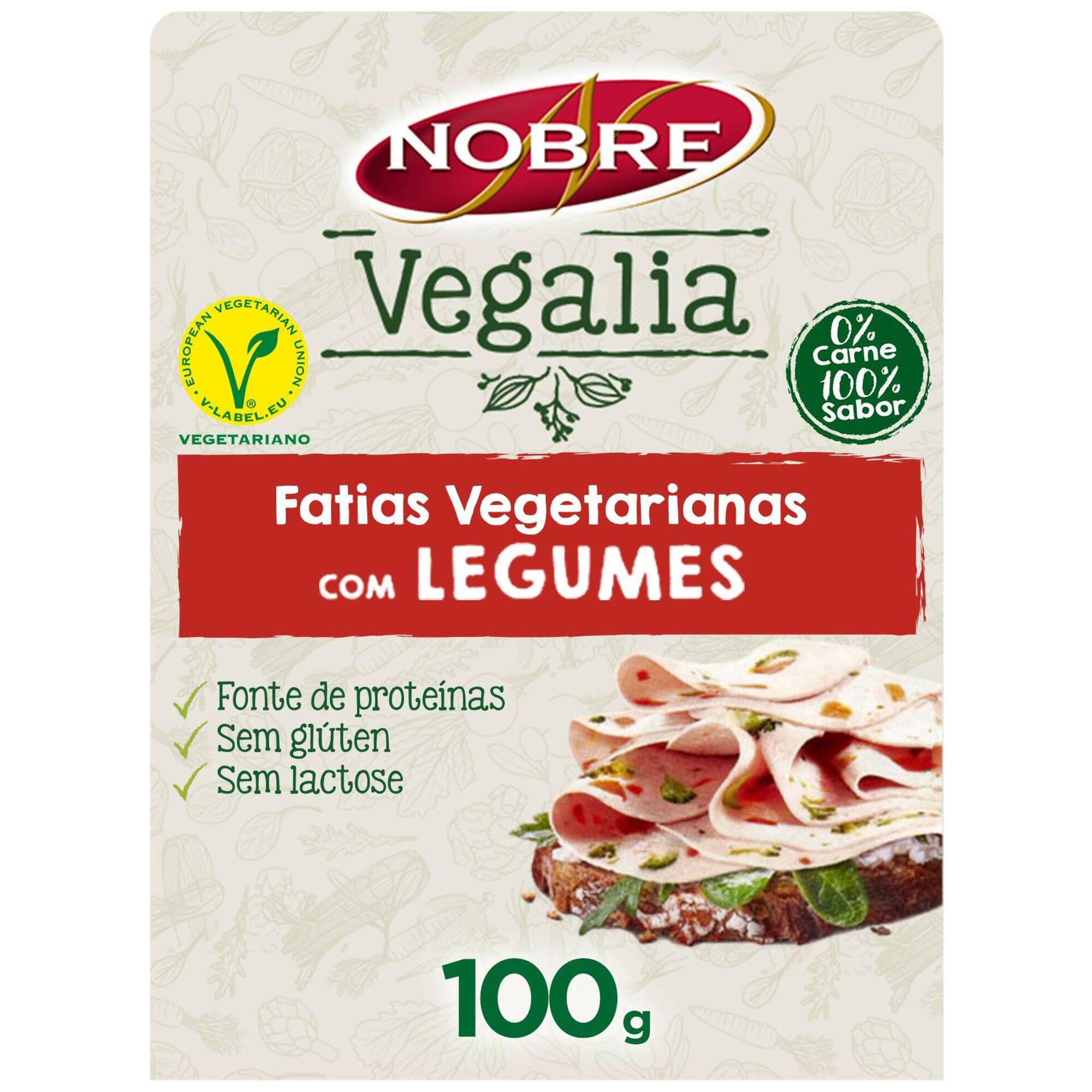 Fatias Vegetarianas com Legumes