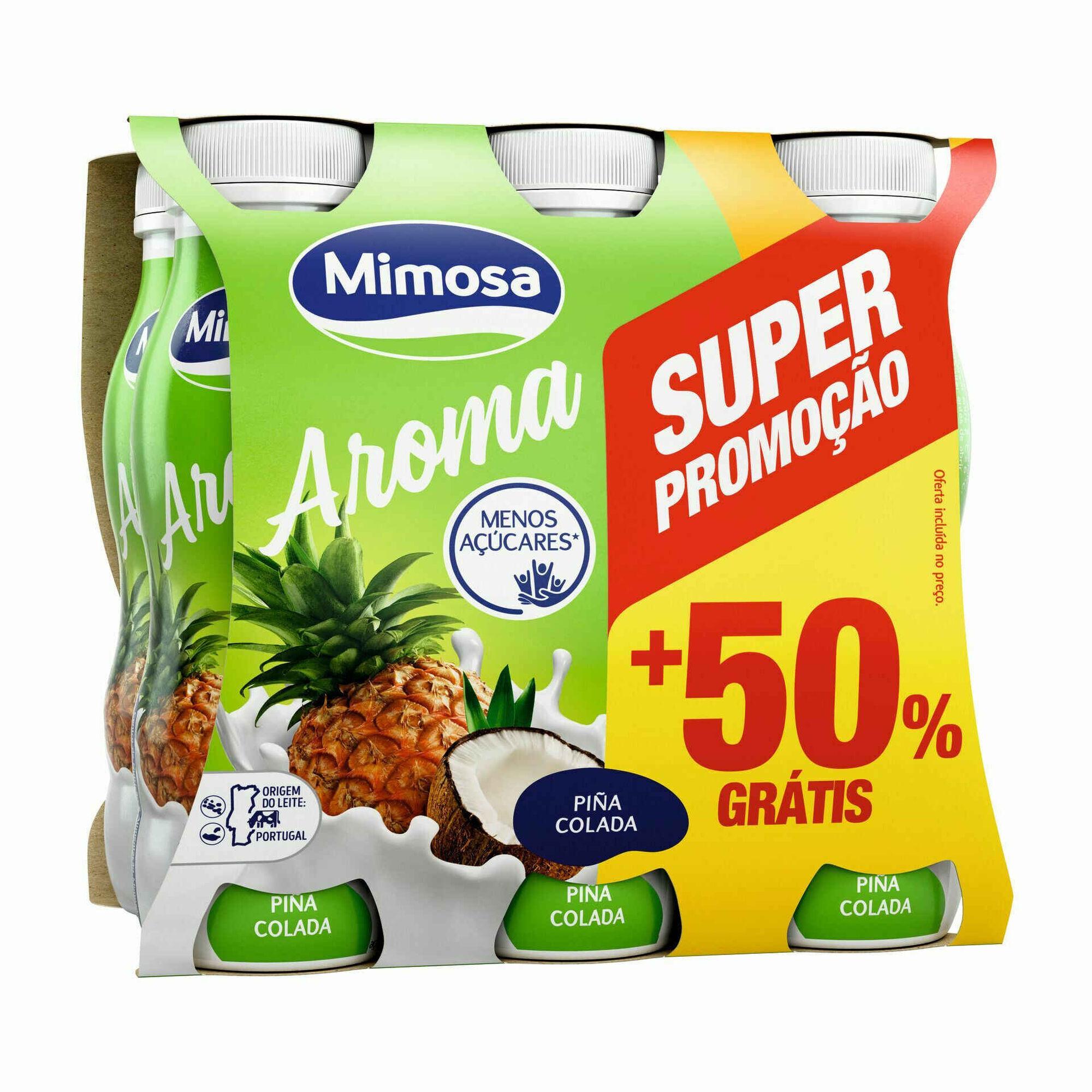 Iogurte Líquido Ananás e Coco