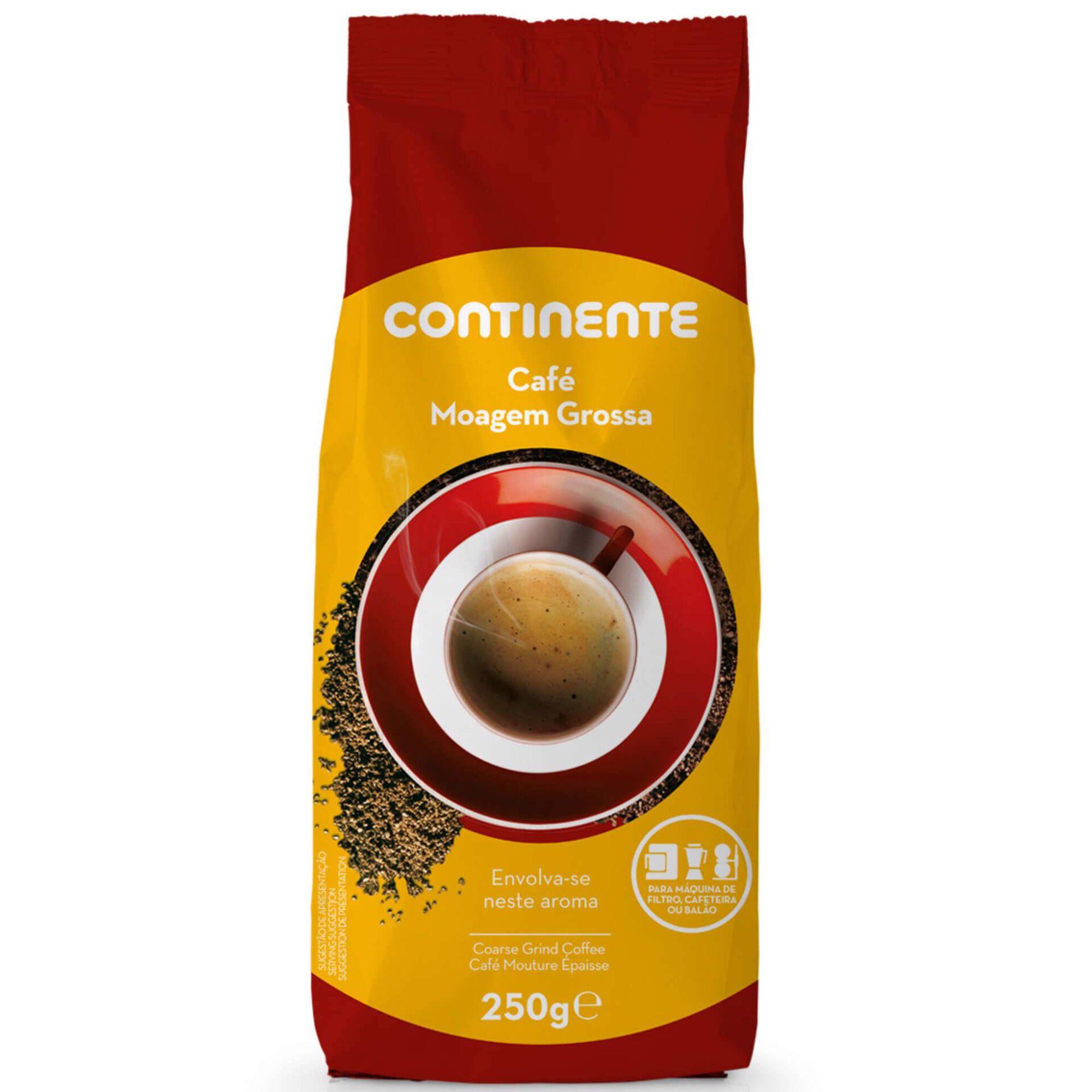Café Moído Moagem Grossa