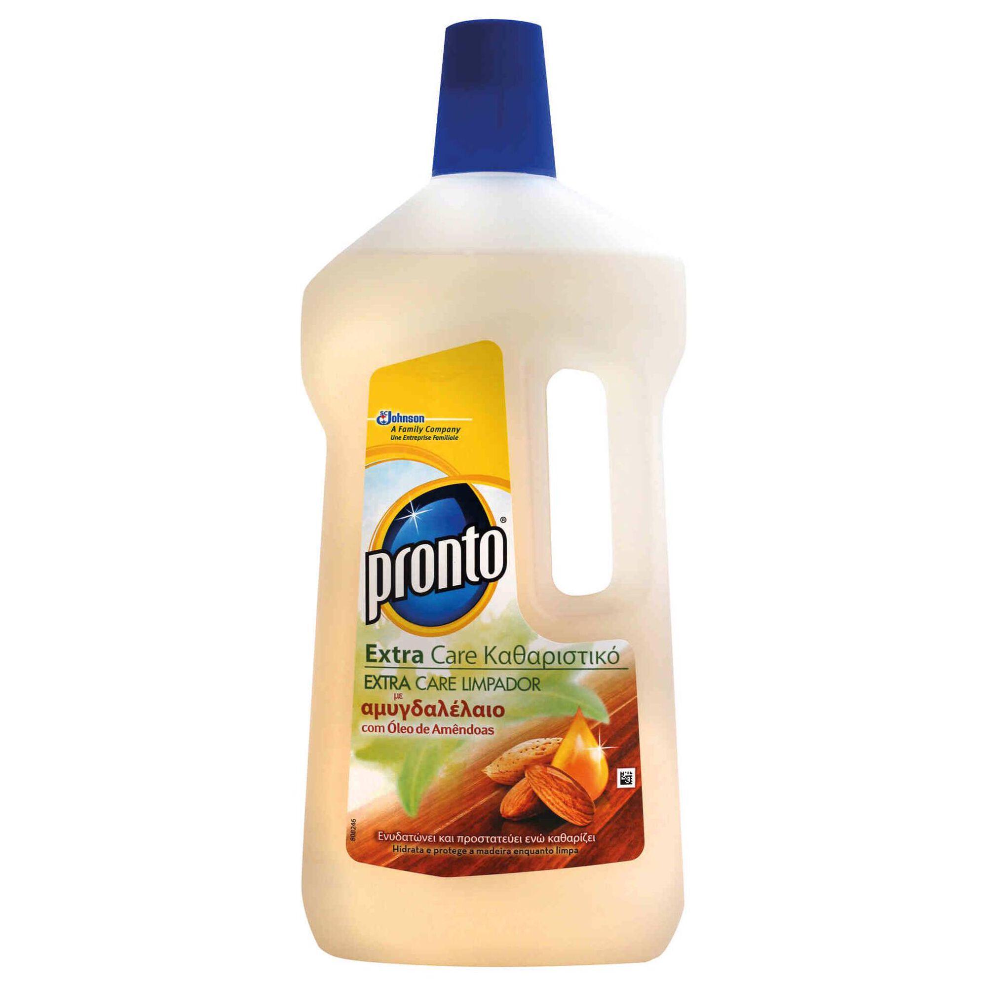 Lava Tudo Madeiras Extra Care com Óleo de Amêndoas