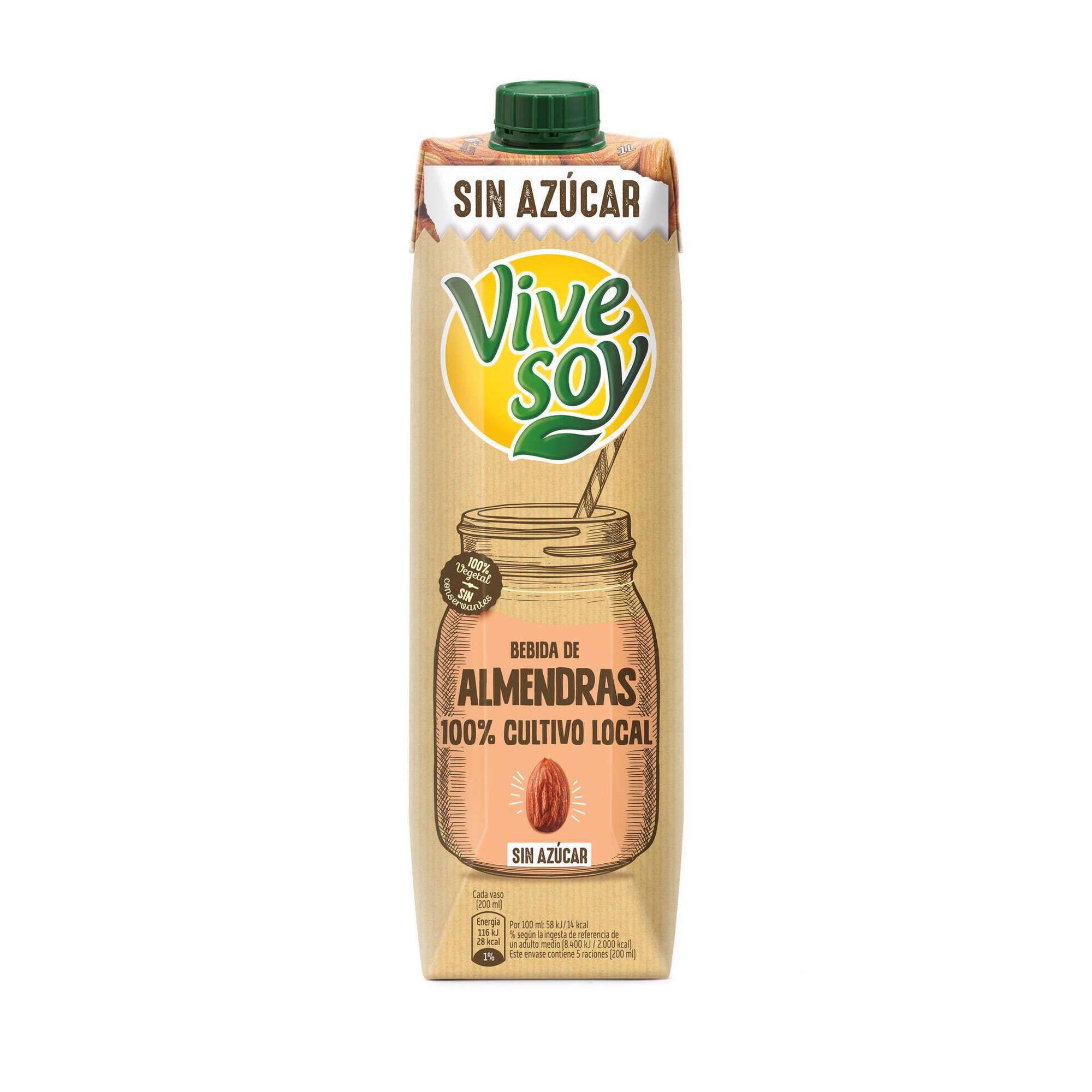 Bebida Vegetal de Amêndoa sem Açúcar
