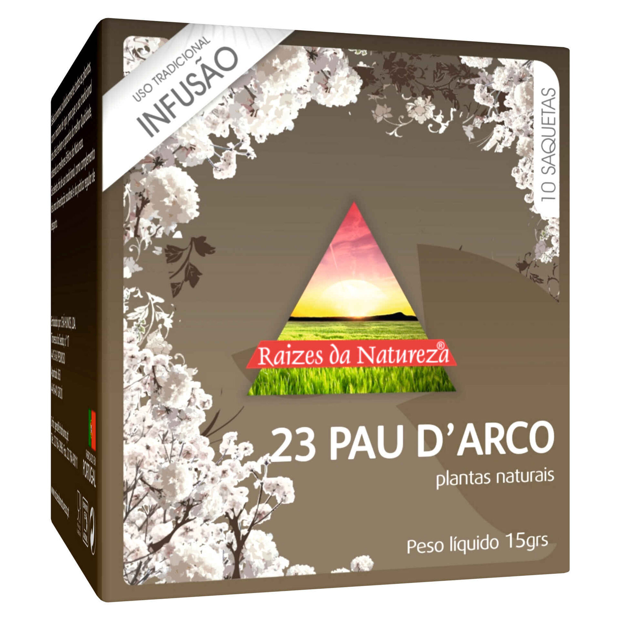 Infusão Nº23 Pau D'Arco Saquetas