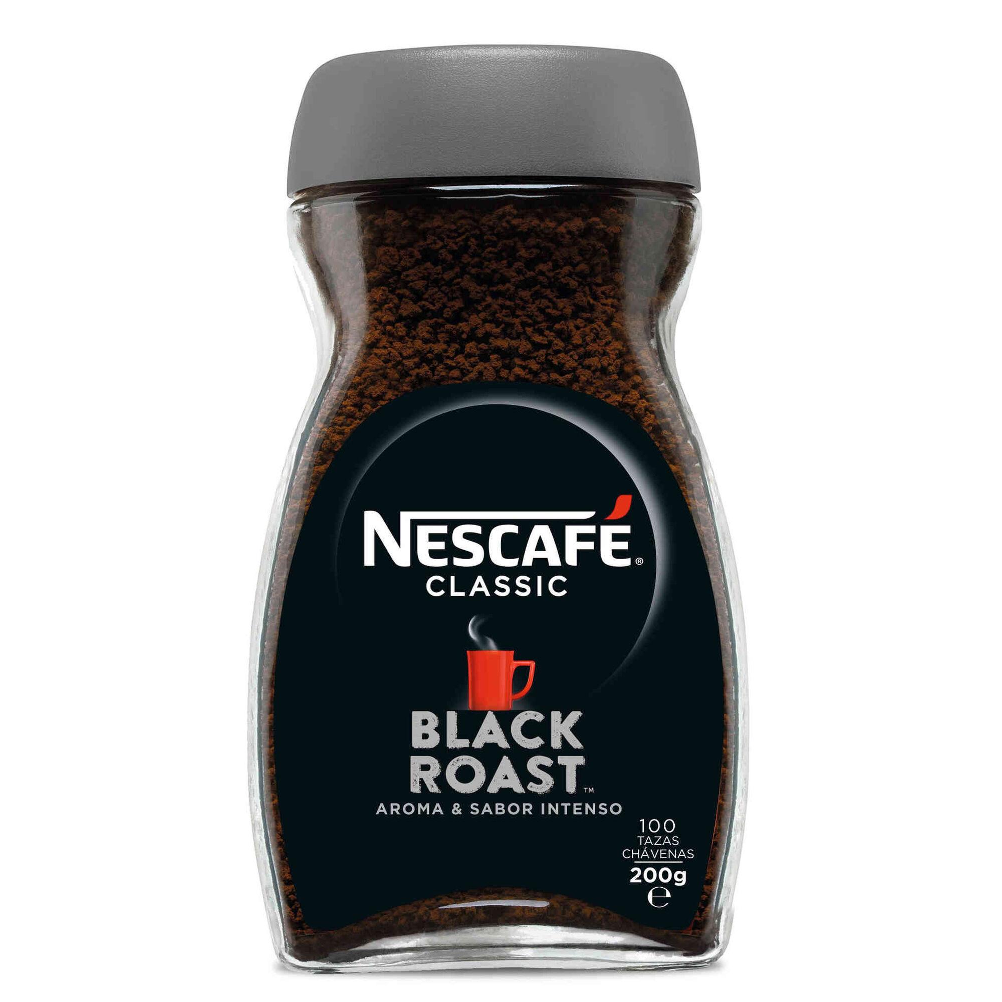 Café Solúvel Black Roast