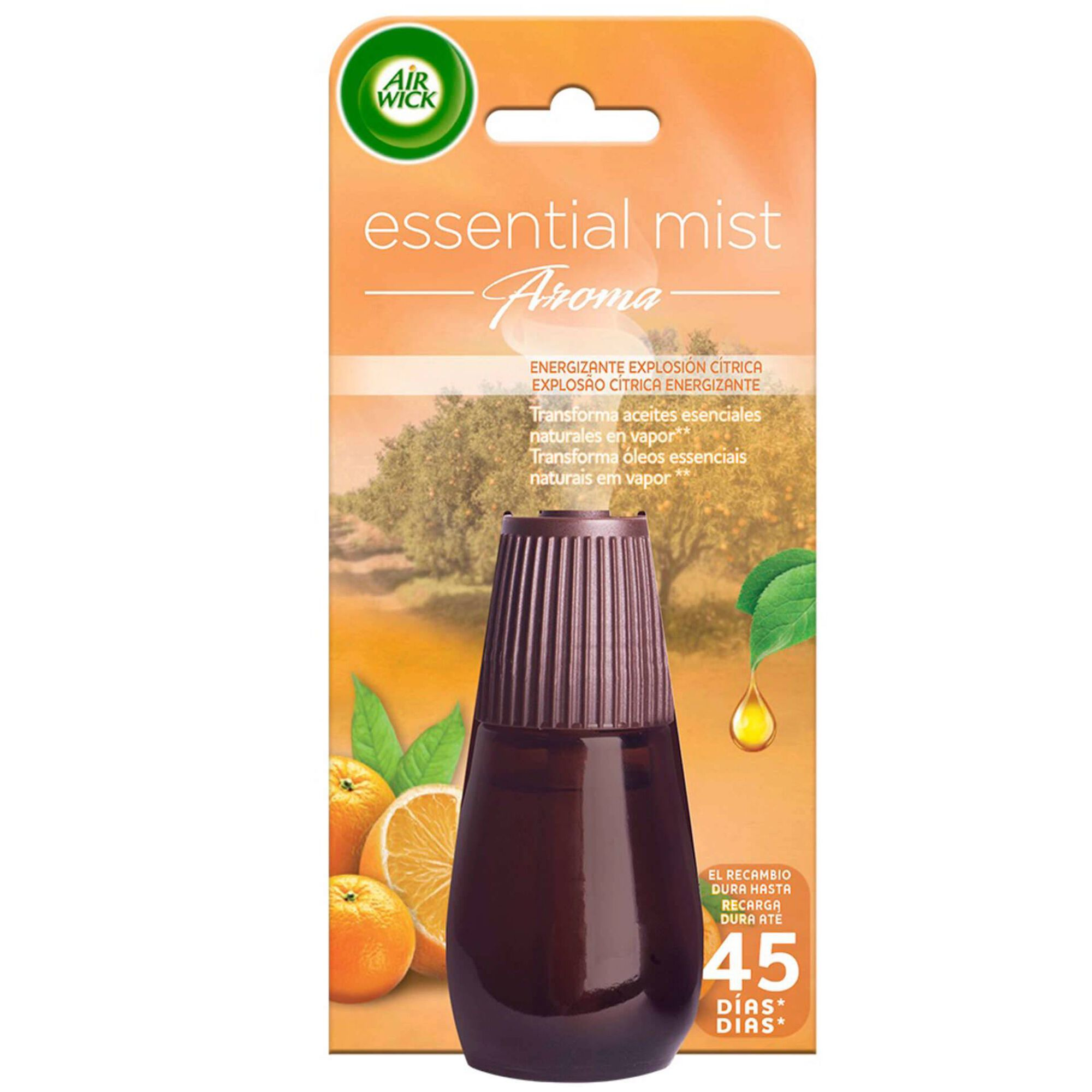 Ambientador Recarga Difusor Essential Mist Citrus