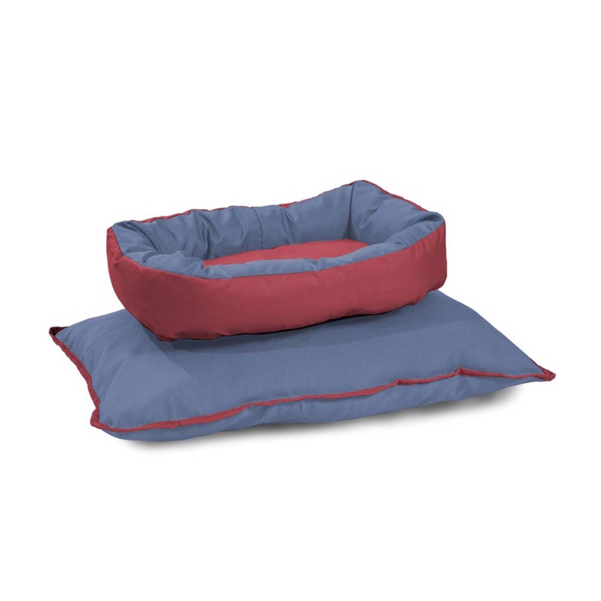 Cama Sofá para Cão Oval Laranja S/M