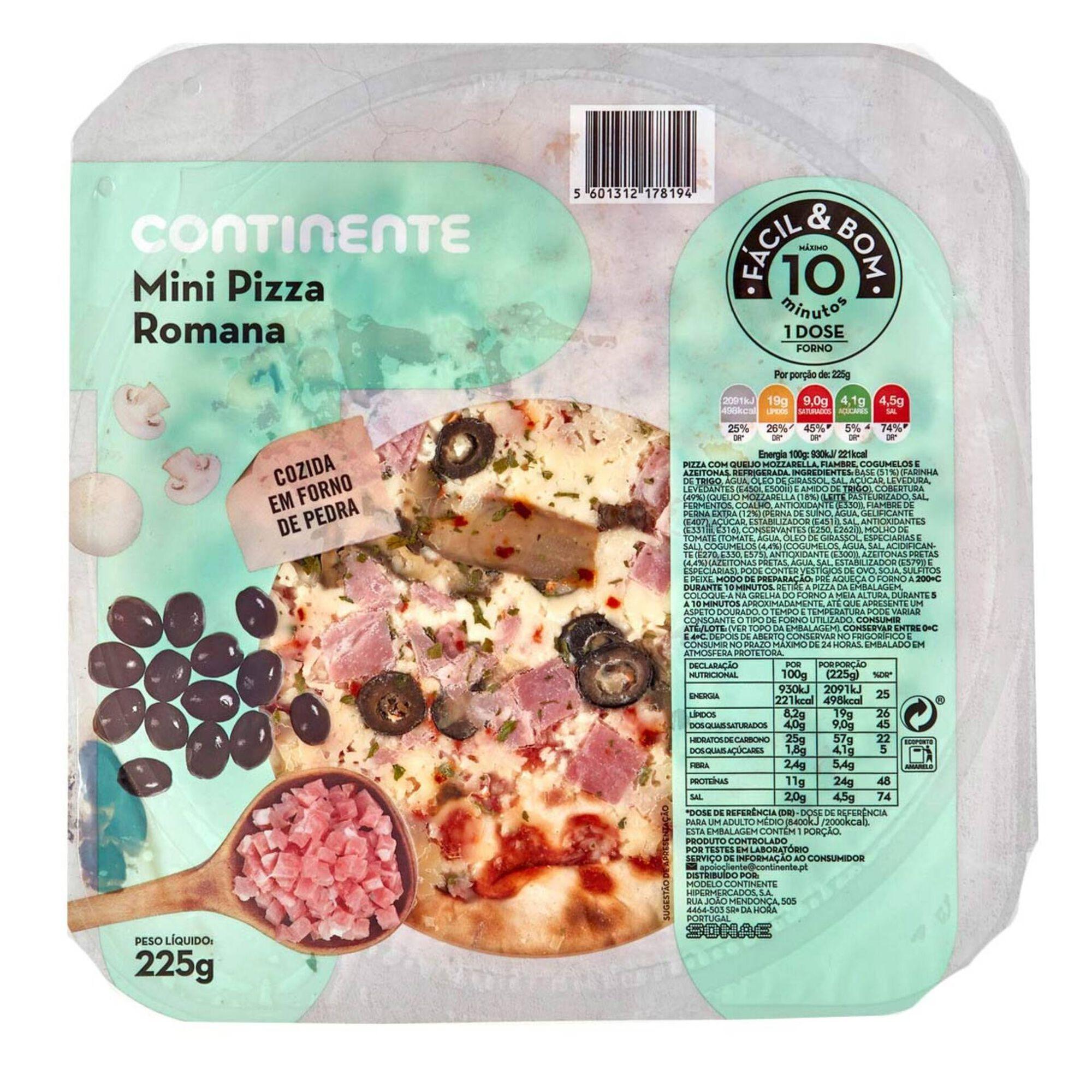 Mini Pizza Fresca Romana