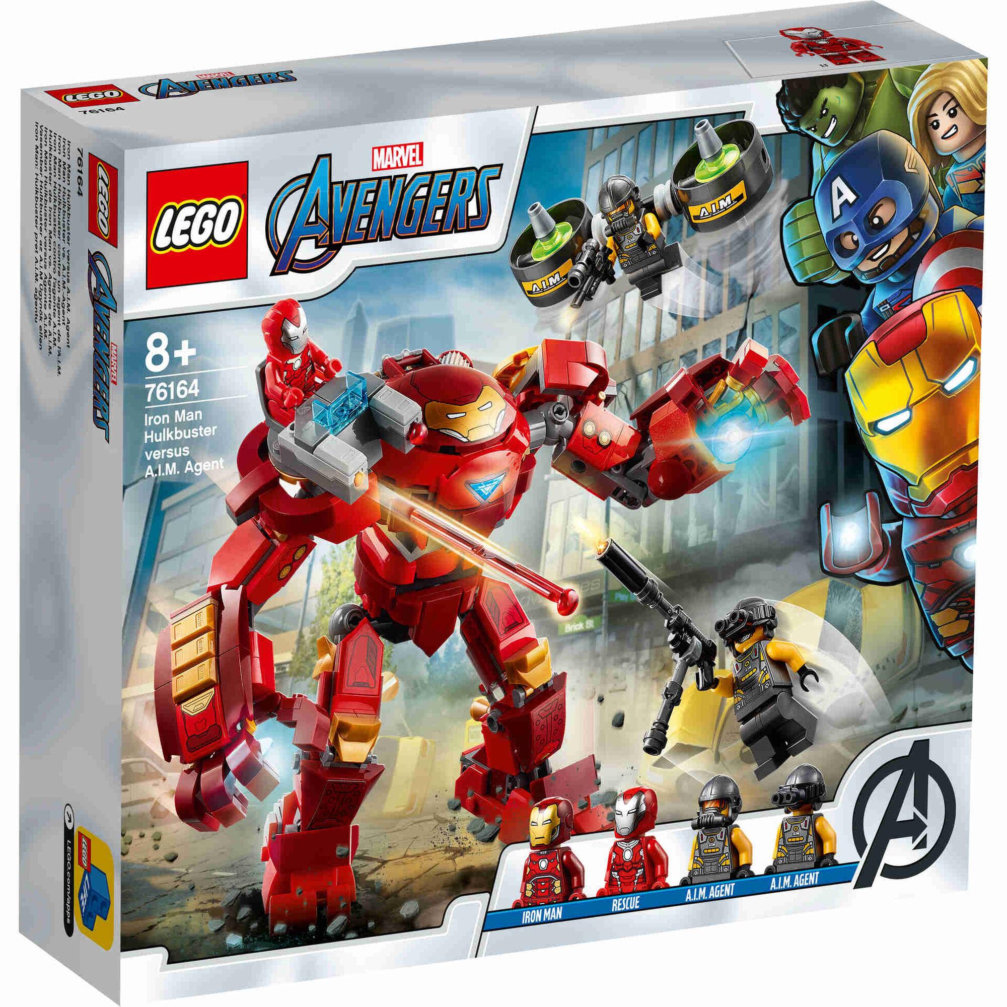 Iron Man Hulkbuster Versus Agente A.I.M. - 76164