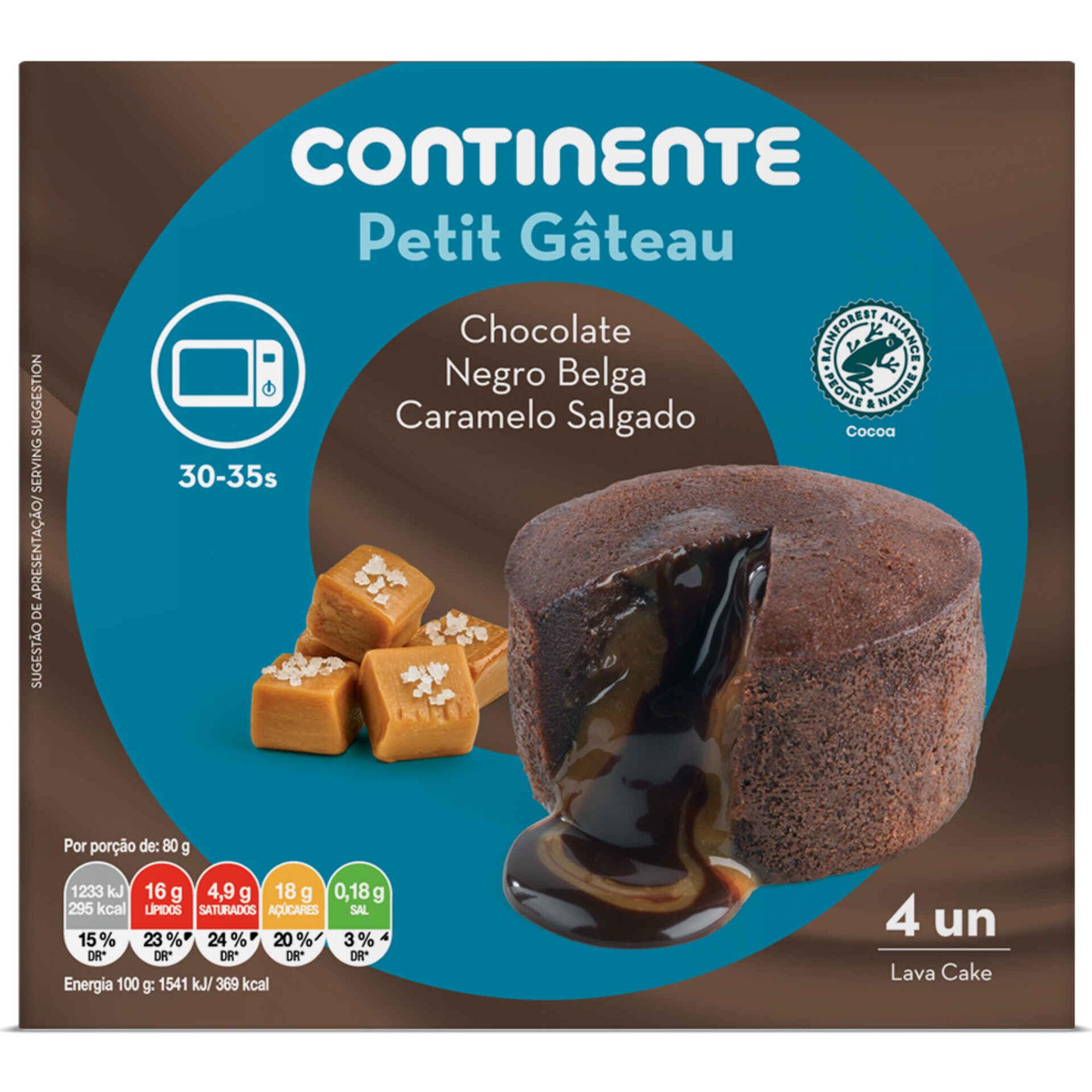 Petit Gâteau de Caramelo Salgado